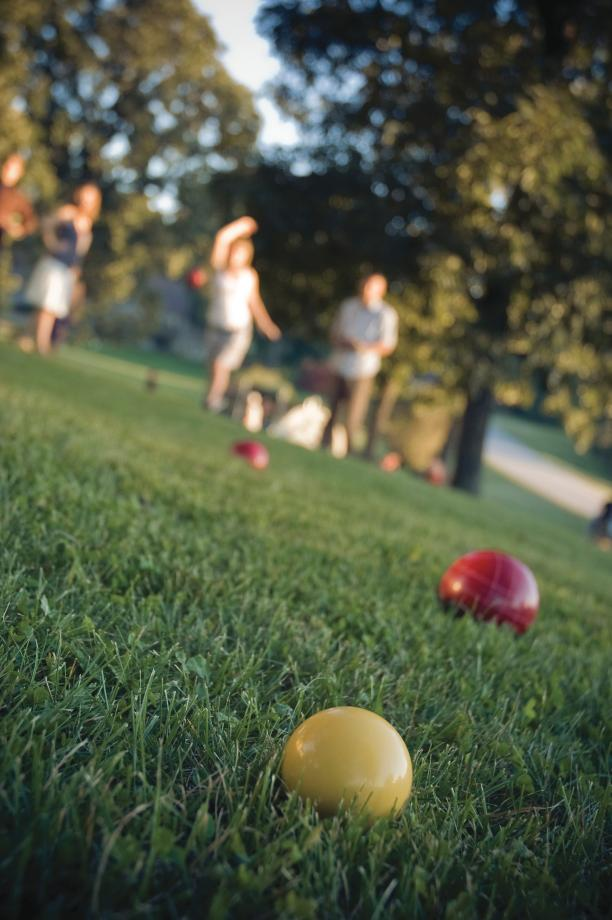 The community clubhouse will offer a fitness gym, a lounge, pickleball courts, and bocce ball