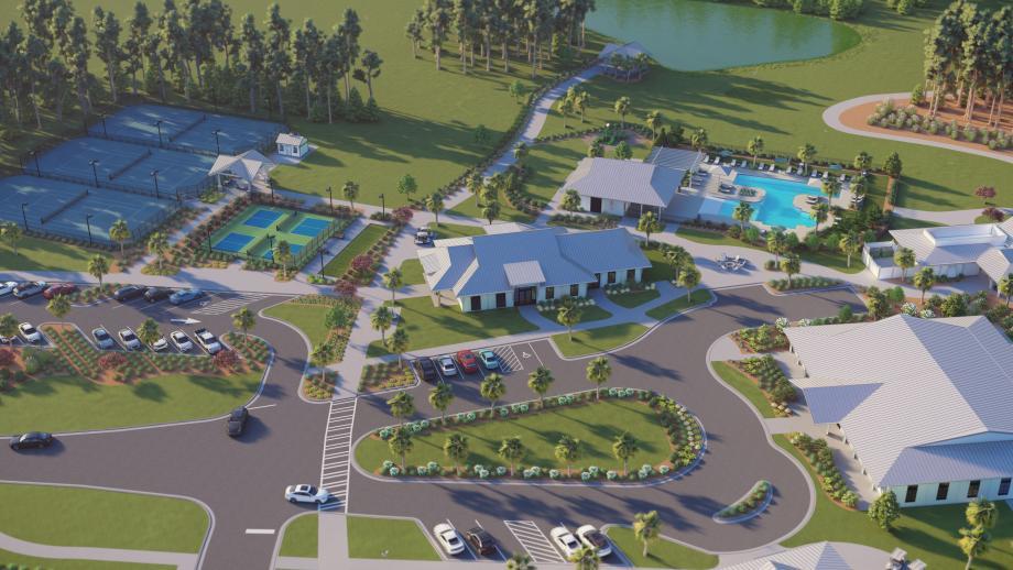 Resort-style amenities for outdoor activities and living