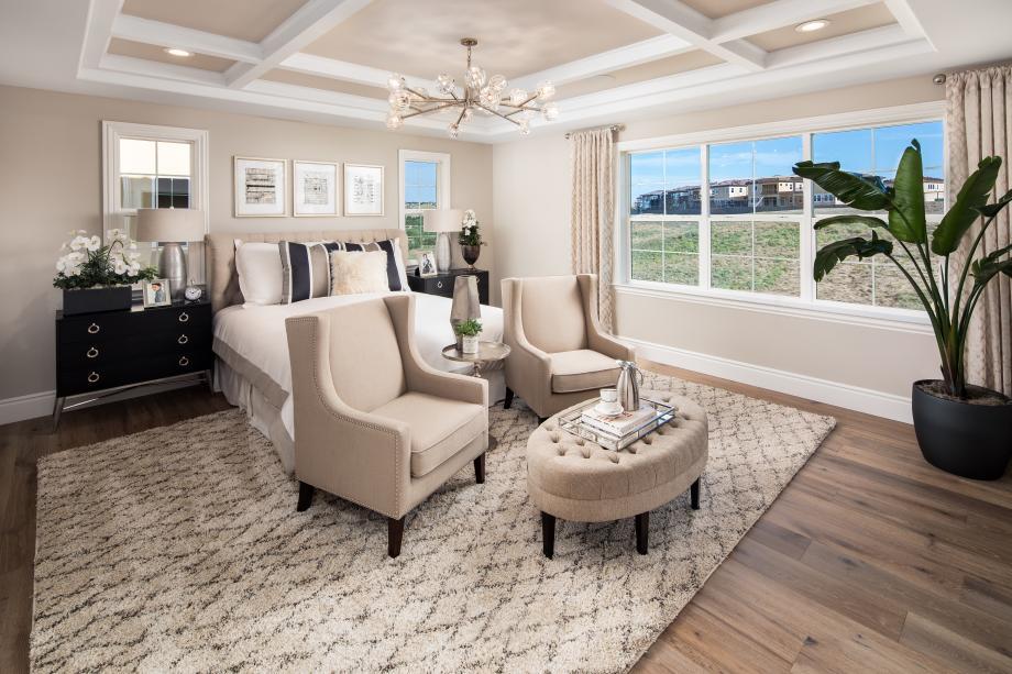 Arbor collection serene primary bedroom suites