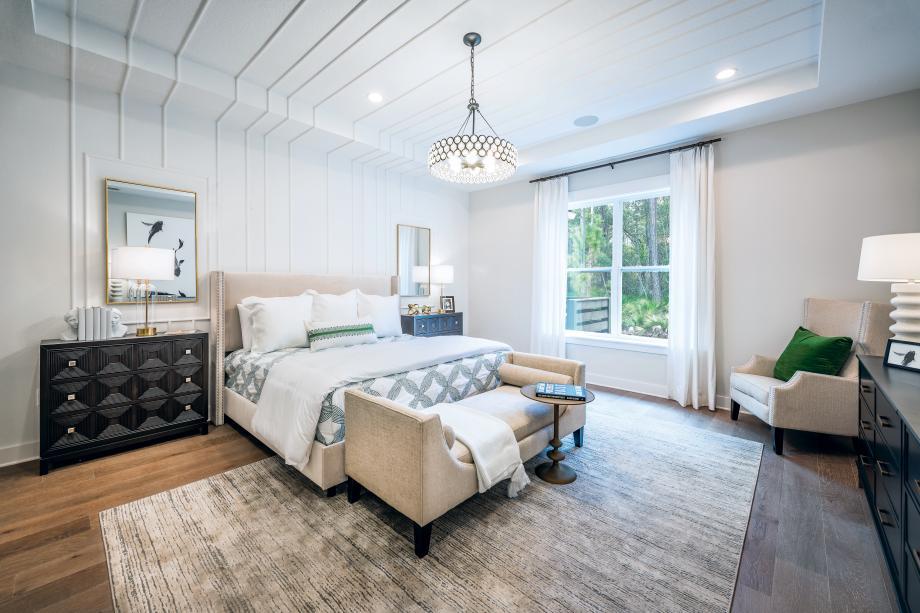 Oversized primary bedroom suites