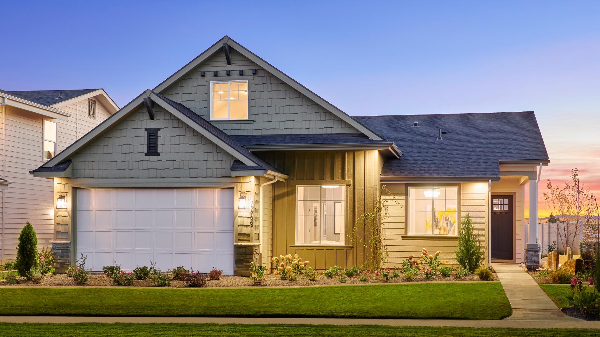 Clean modern exteriors