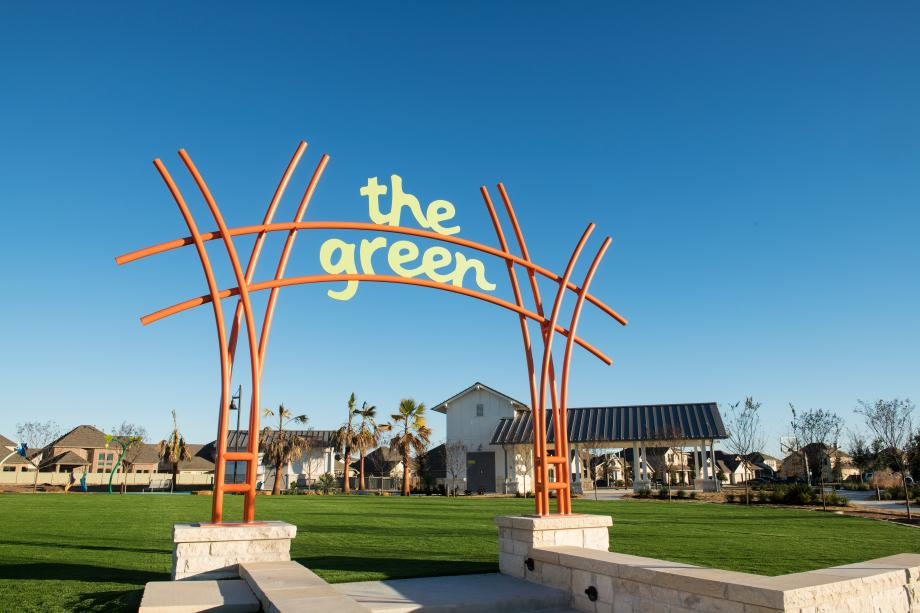 The Hub at the Green is a place where residents gather, connect, and get to know neighbors