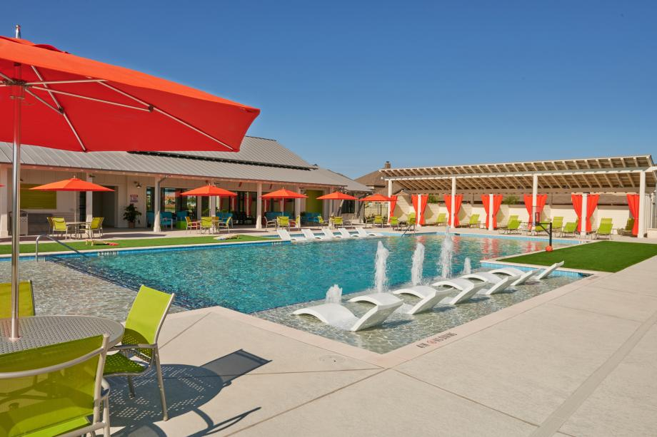 Relax by the resort-style leisure and lap pool
