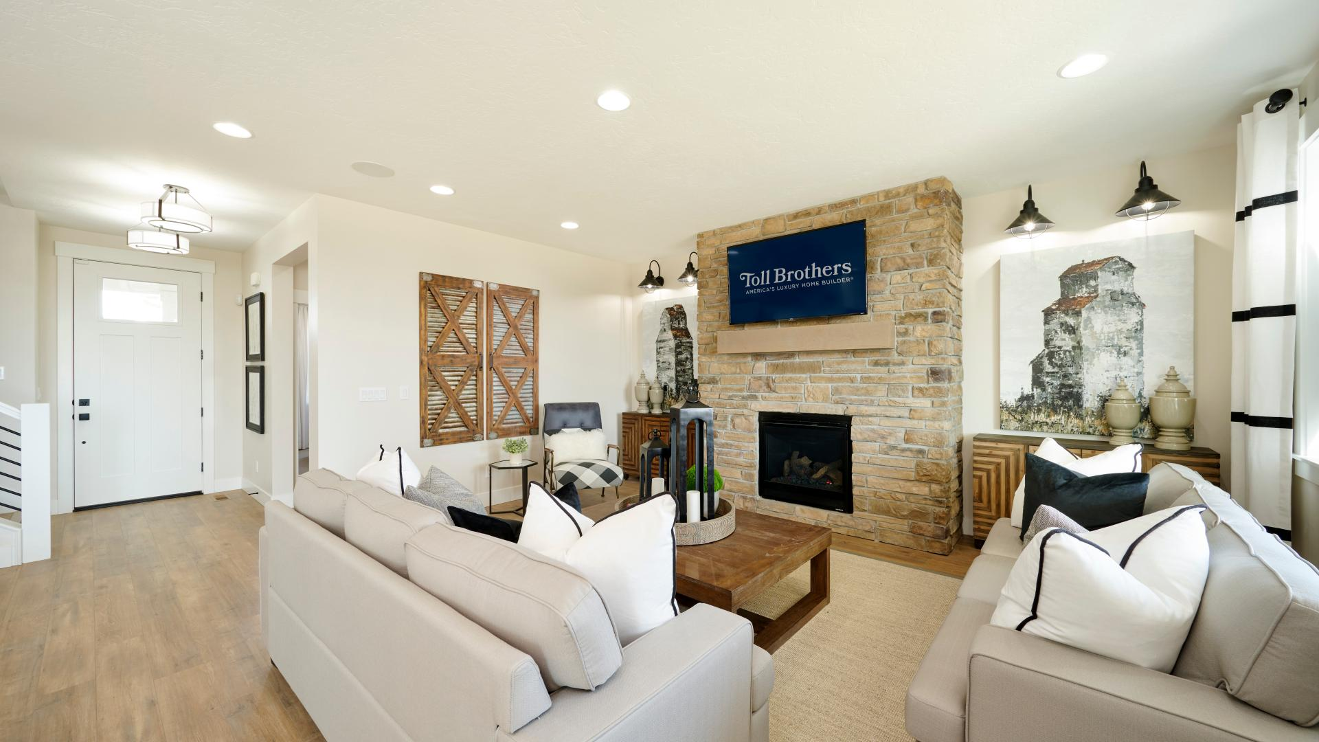 Comfortable, open living spaces