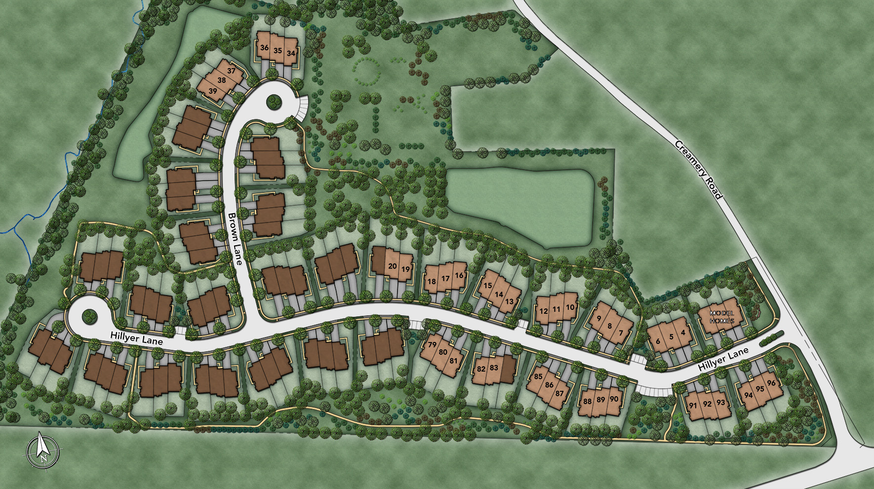 The Enclave at Upper Makefield Site Plan