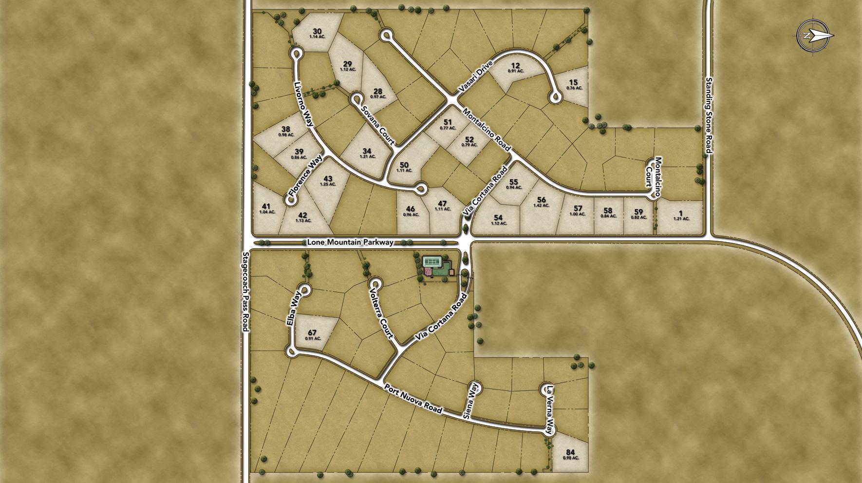 Treviso Site Plan