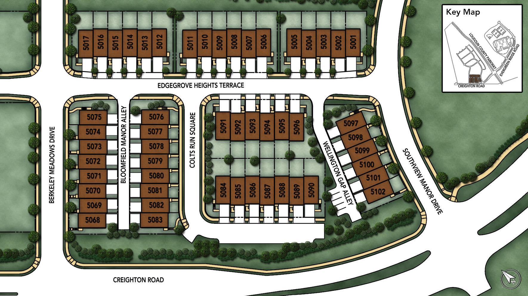 Loudoun Valley - The Meadows Site Plan I