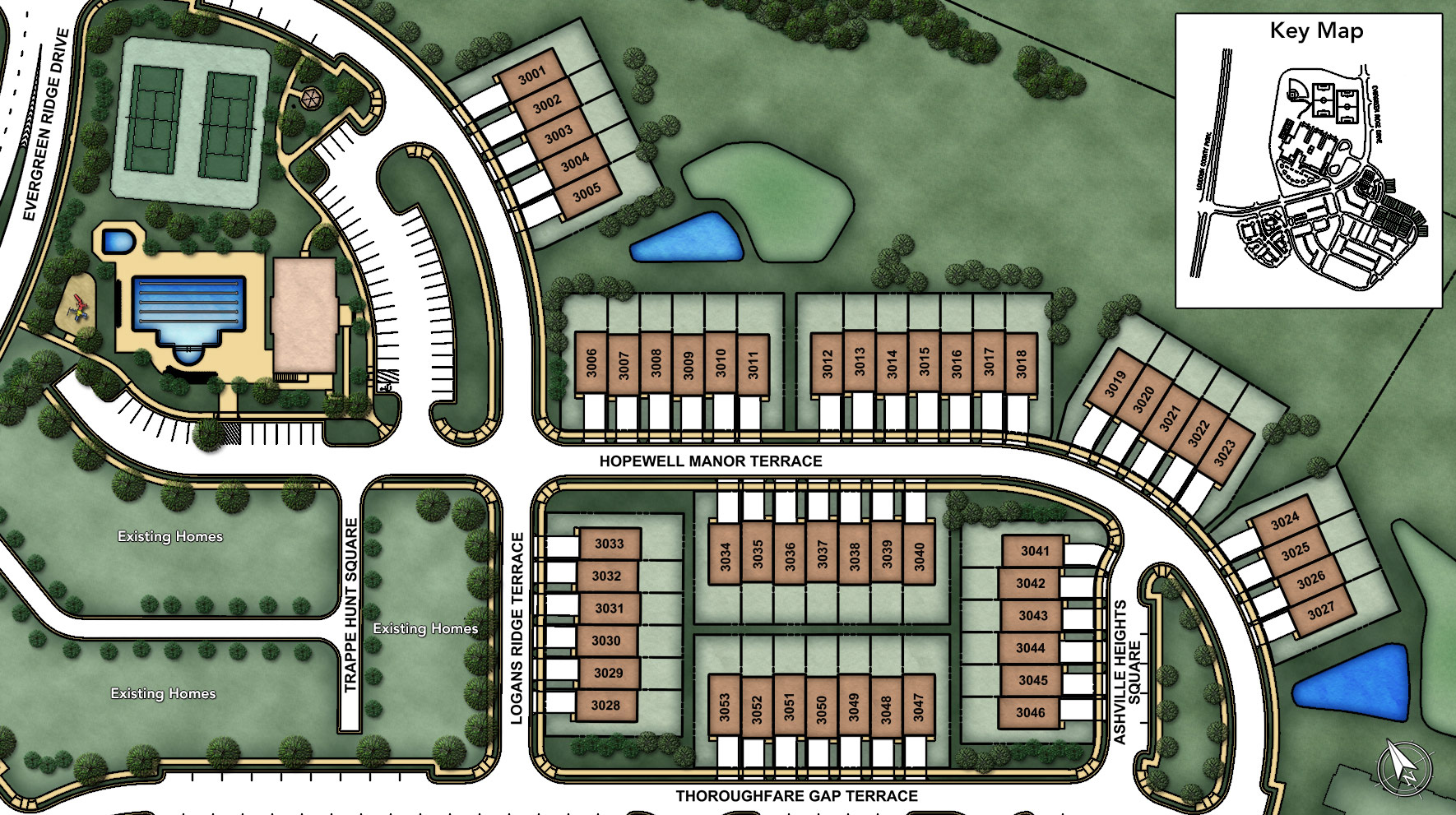 Loudoun Valley - The Meadows Site Plan I