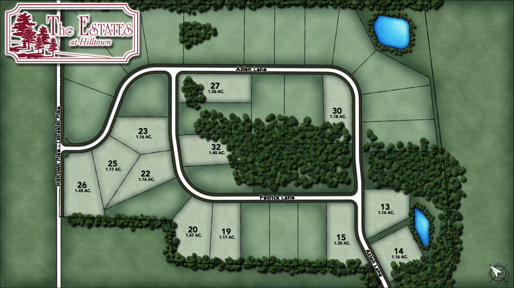 Estates at Hilltown Site Plan