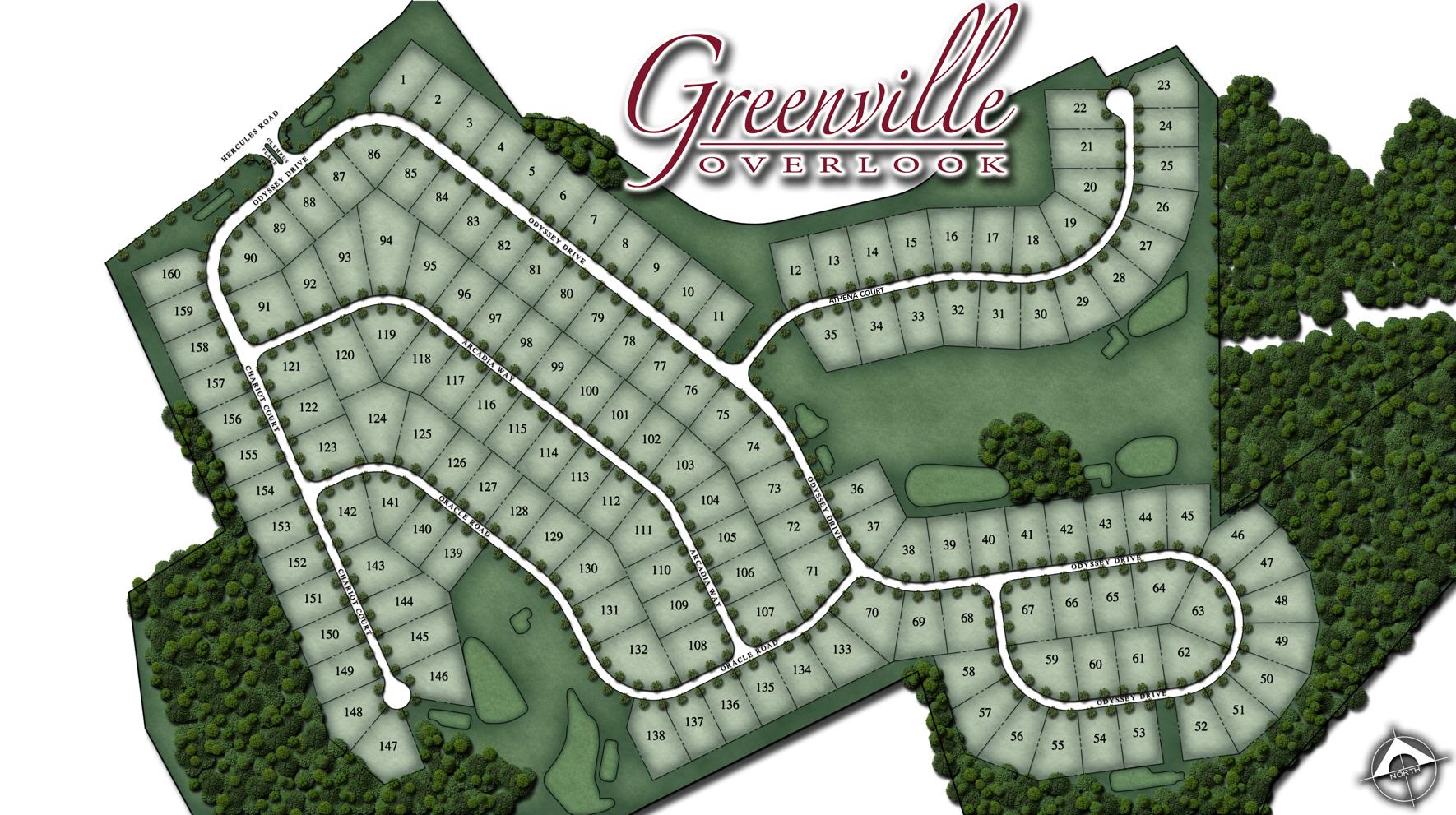 Greenville Overlook Site Plan