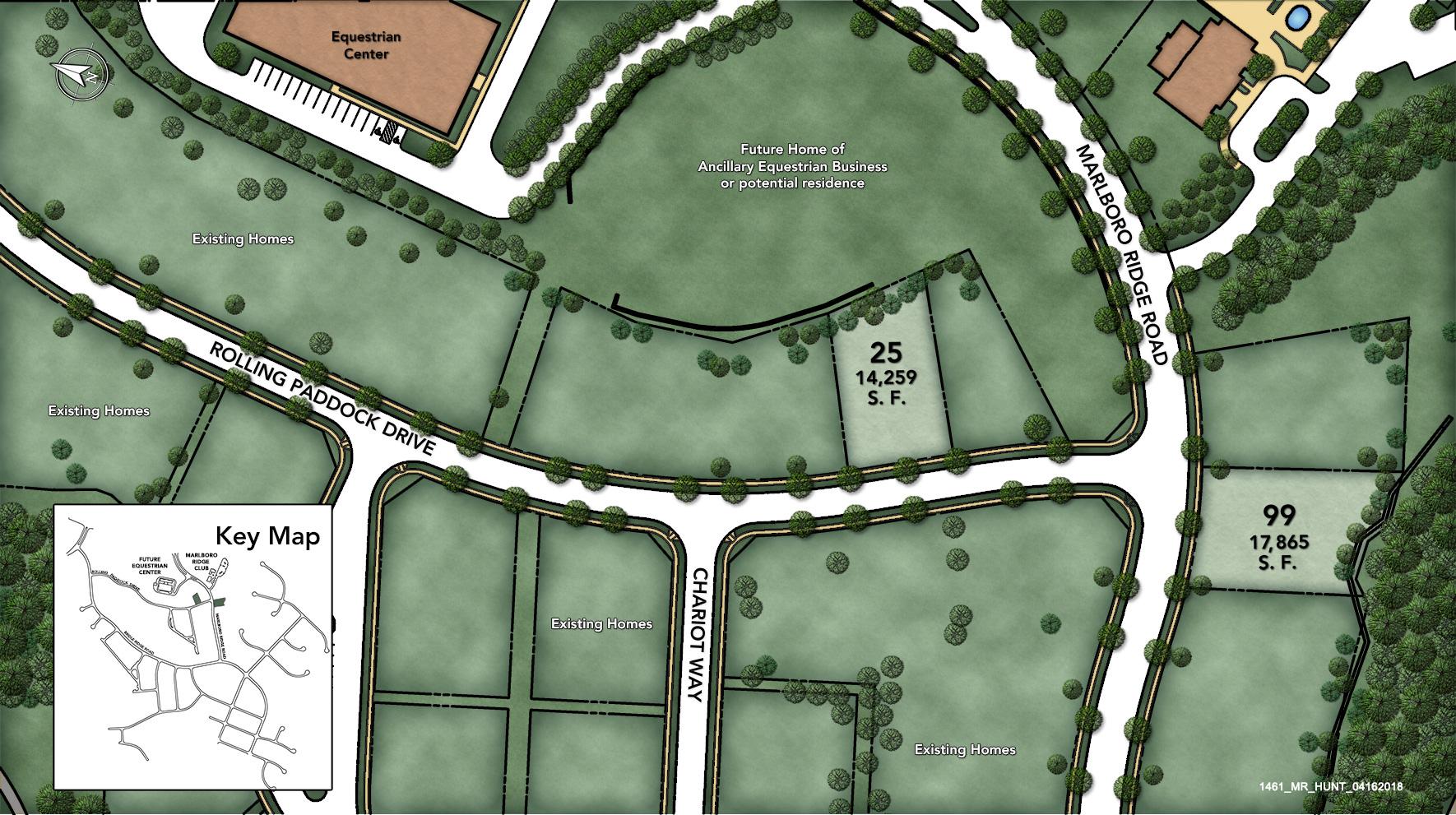 Marlboro Ridge - The Hunt Site Plan I