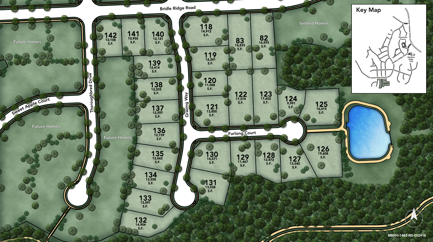 Marlboro Ridge - The Hunt Site Plan II