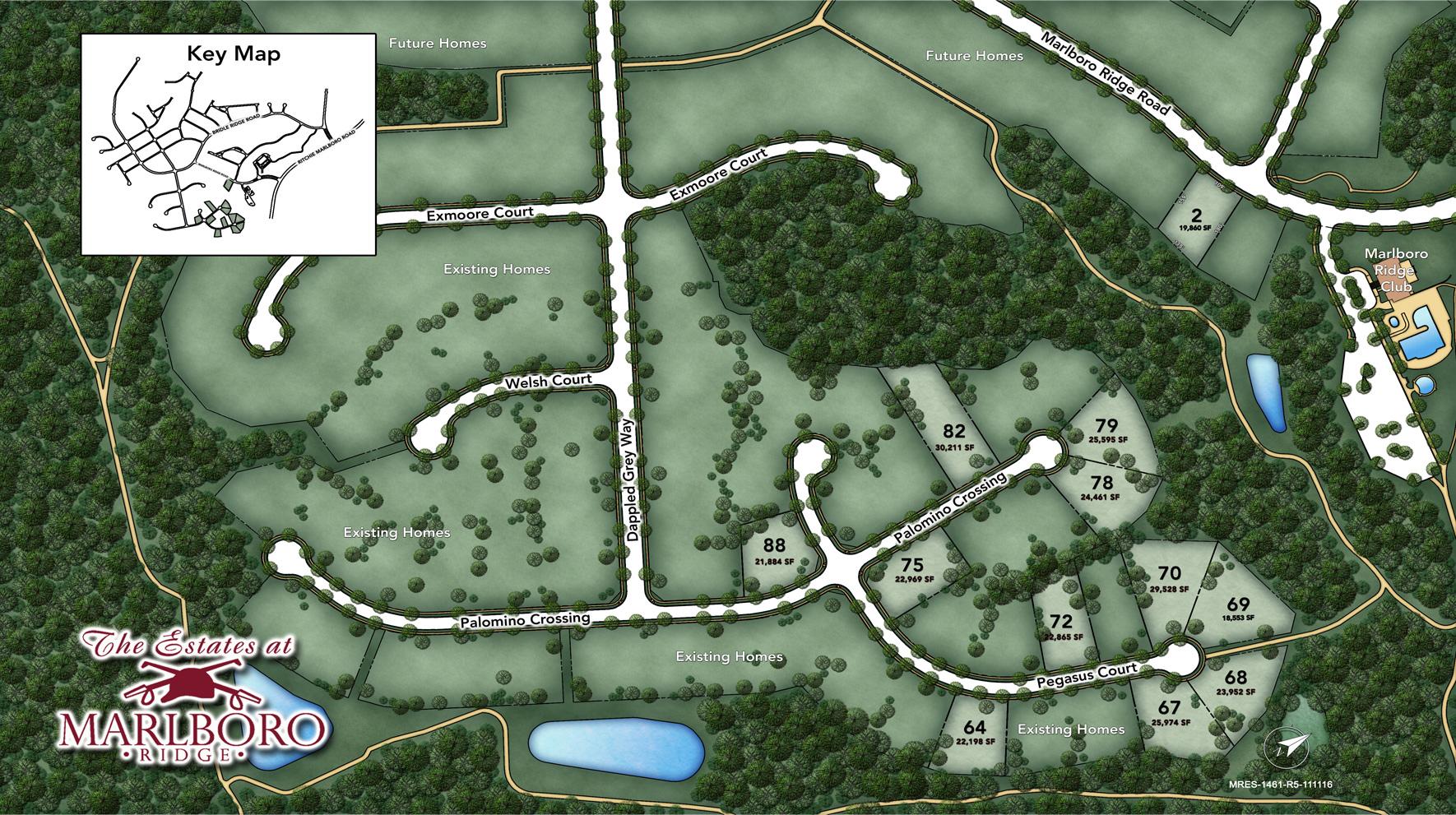 Marlboro Ridge - The Estates Site Plan