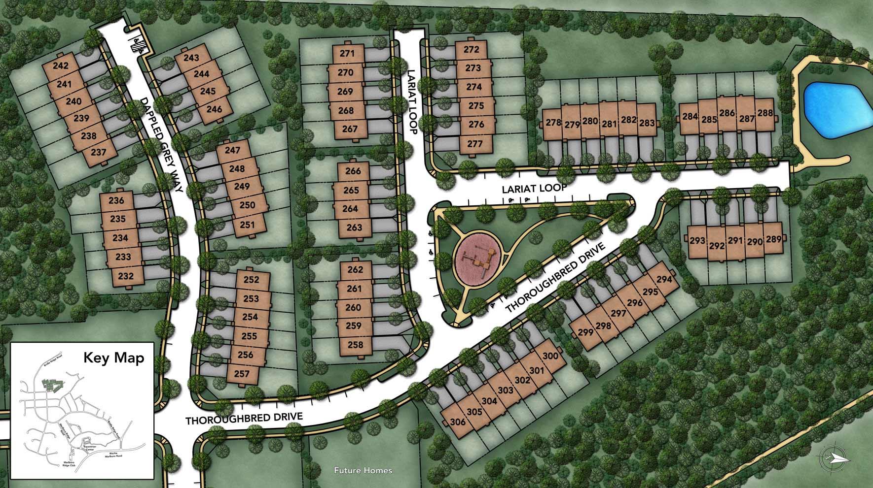 Marlboro Ridge - The Meadows Site Plan I