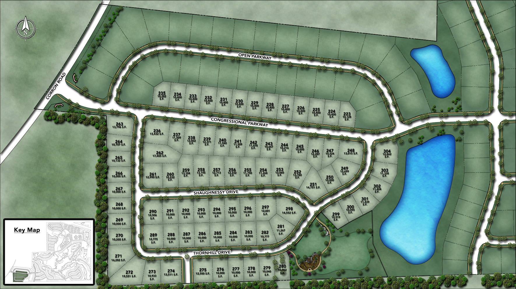 Bowes Creek Country Club - The Fairways Collection Site Plan