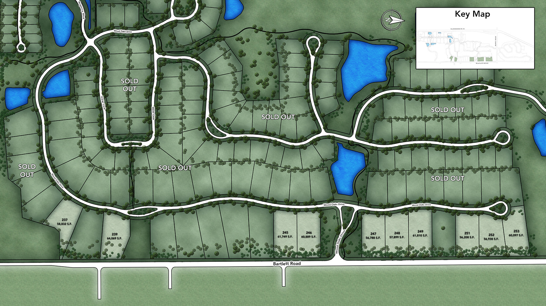 The Woods of South Barrington - Signature Collection Site Plan II