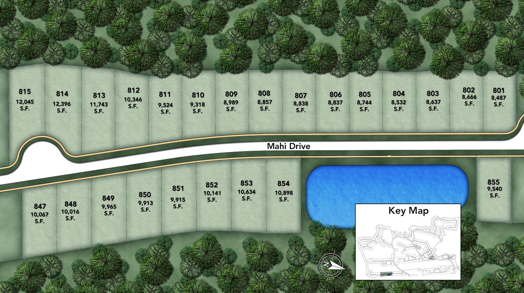 Mahi II Site Plan