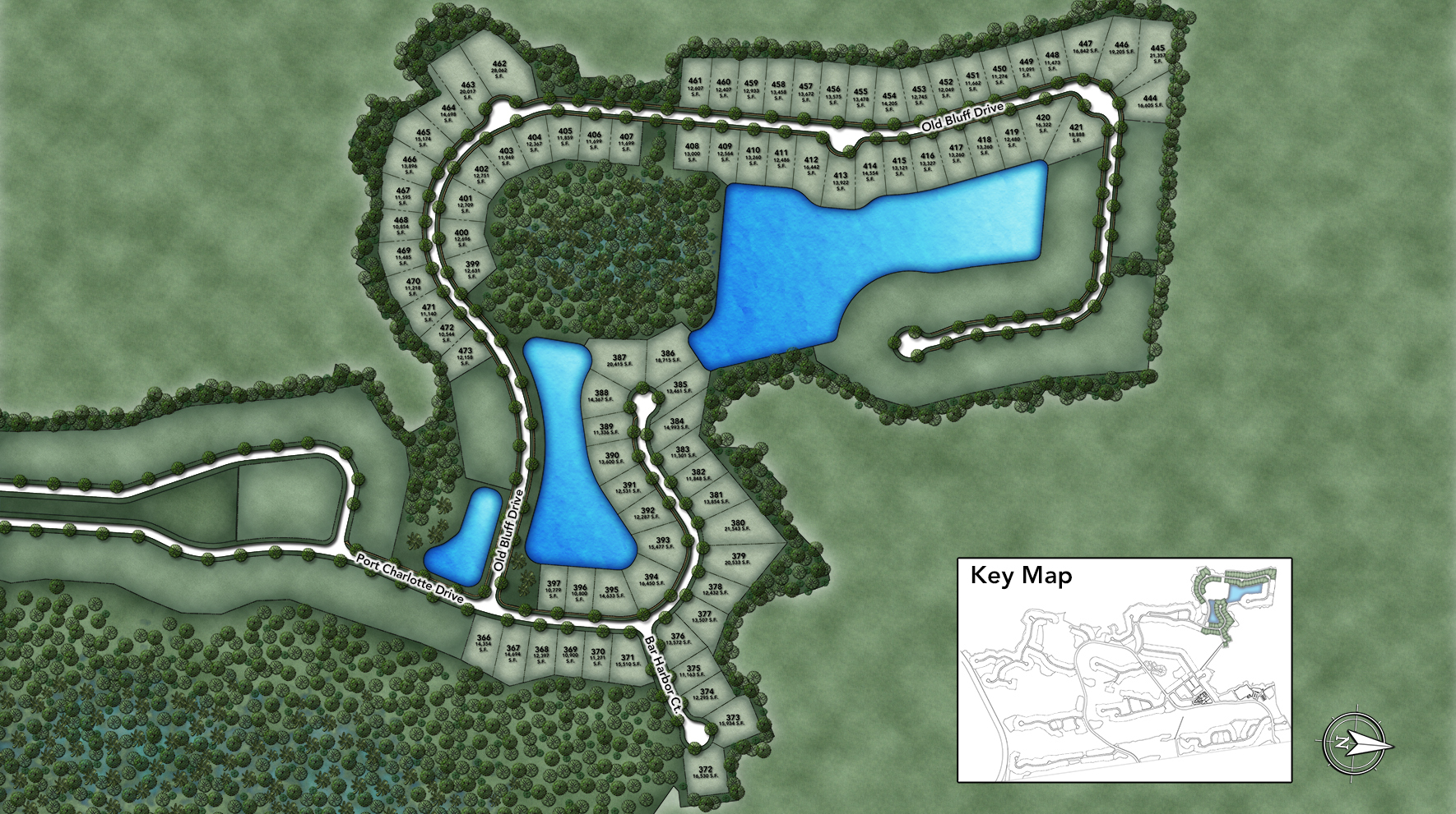 Coastal Oaks at Nocatee - Estate Site Plan