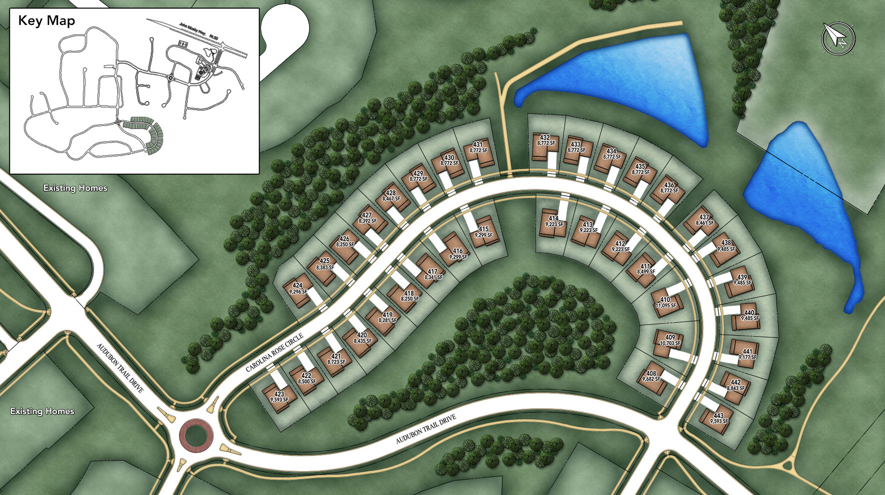 Lenah Mill - The Villages Site Plan III