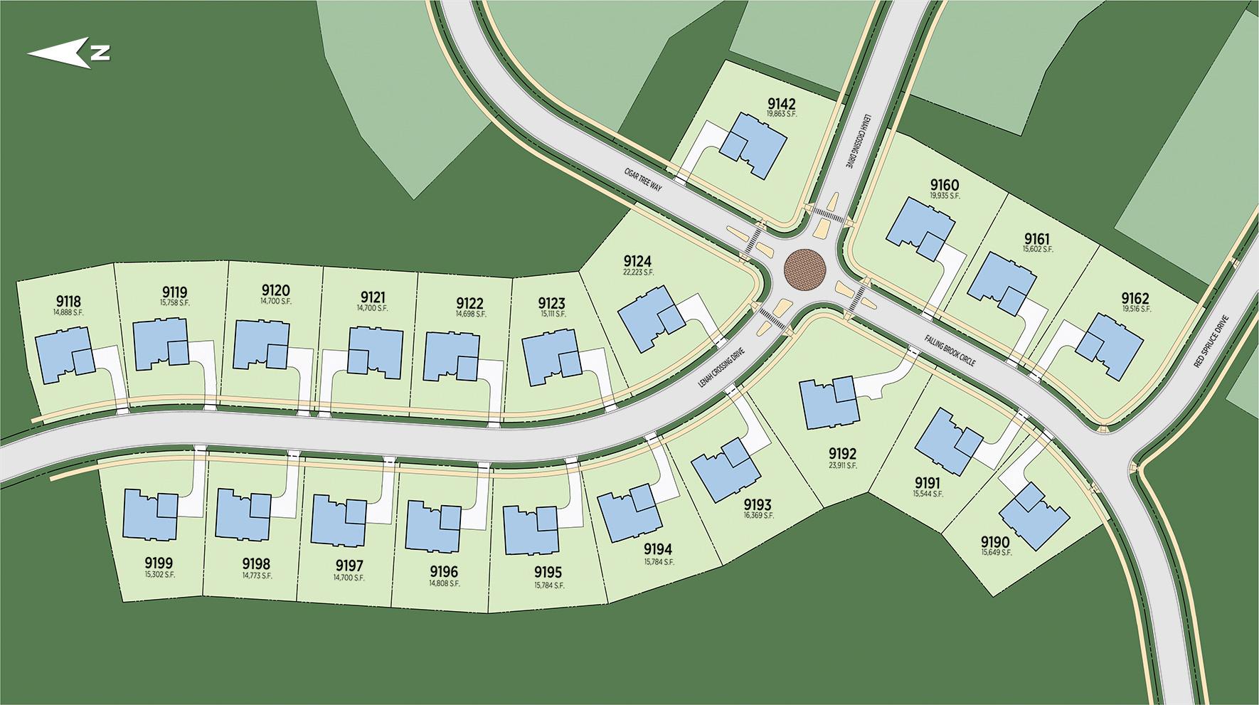 Lenah Mill - The Carolinas Site Plan I