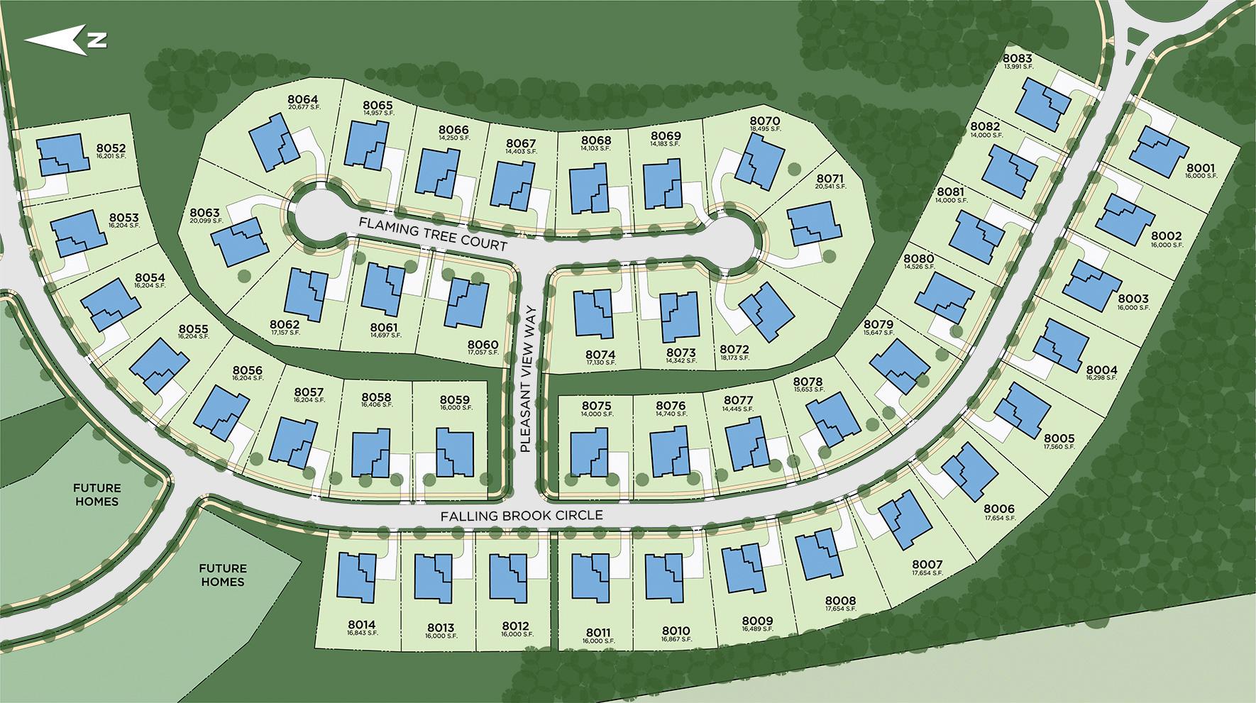 Lenah Mill - The Carolinas Site Plan II