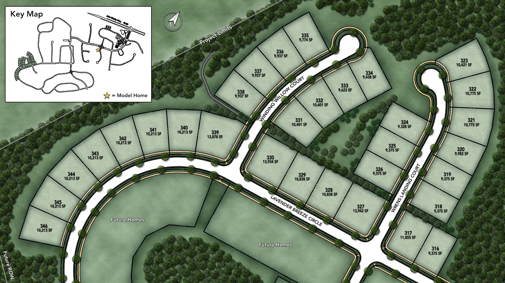 Lenah Mill - The Carolinas Site Plan I