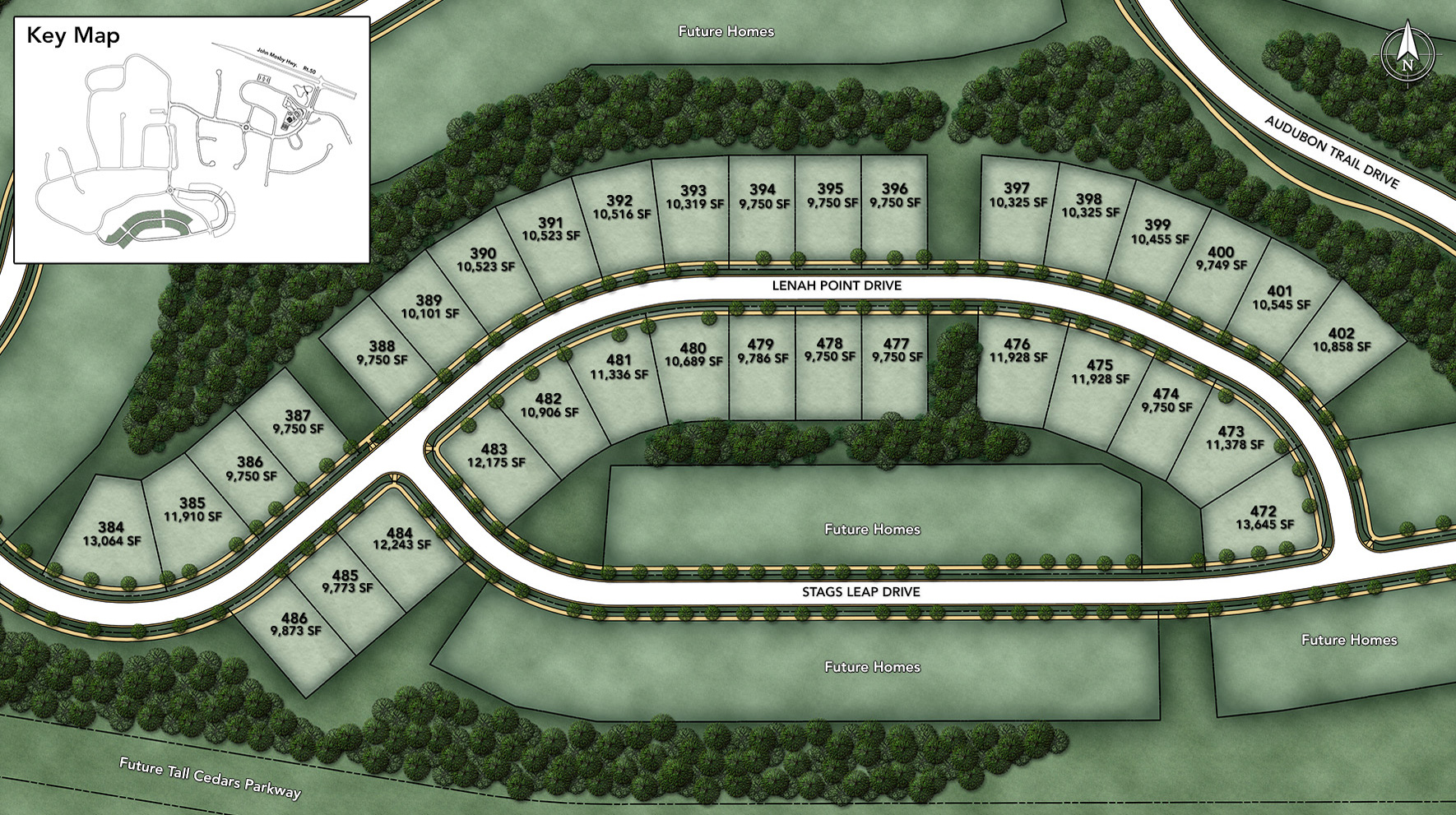 Lenah Mill - The Carolinas Site Plan II