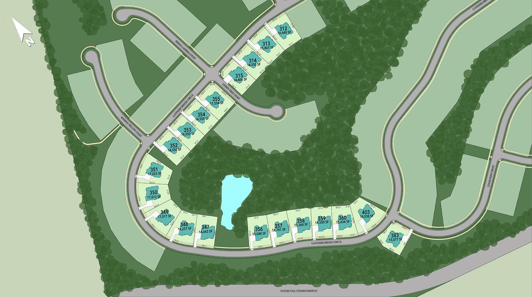 Lenah Mill - The Executives Site Plan V