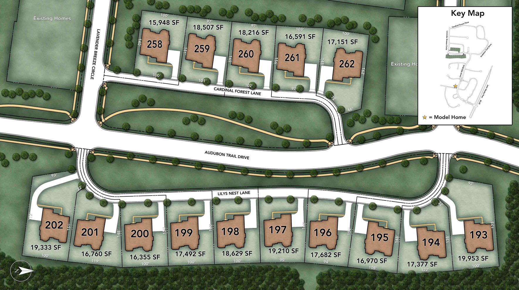 Lenah Mill - The Executives Site Plan II