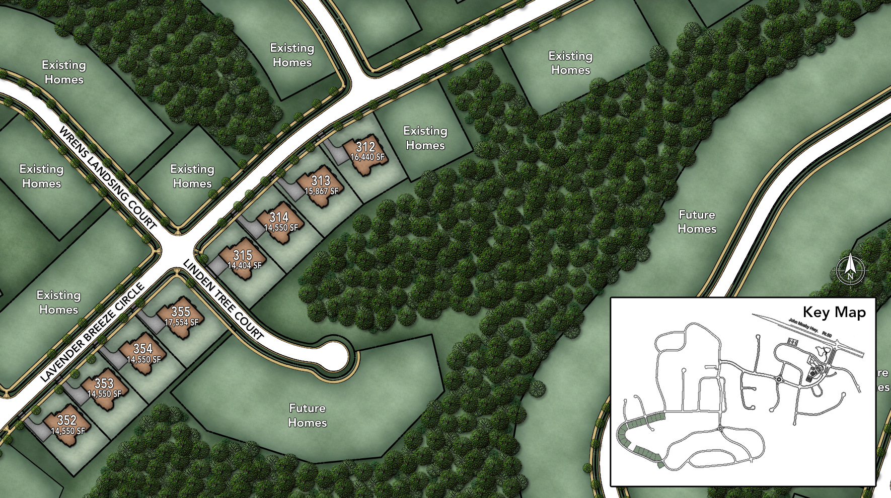 Lenah Mill - The Executives Site Plan IV