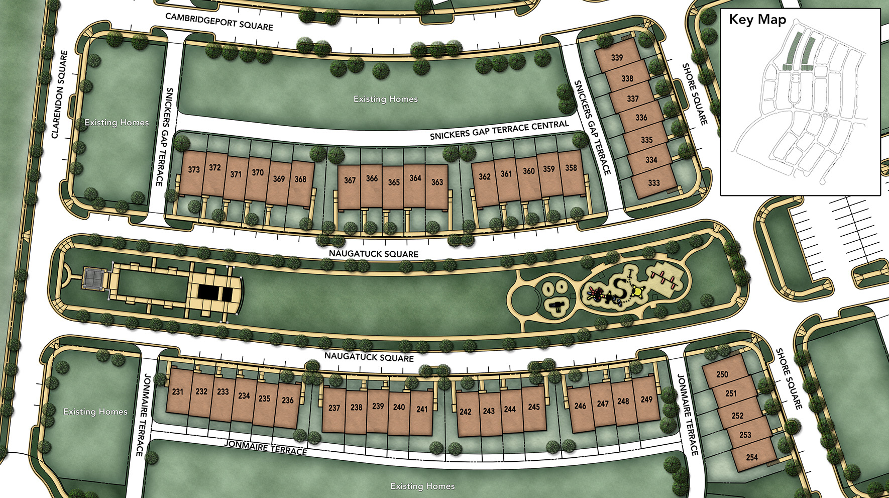 Moorefield Green - The Manors Site Plan II