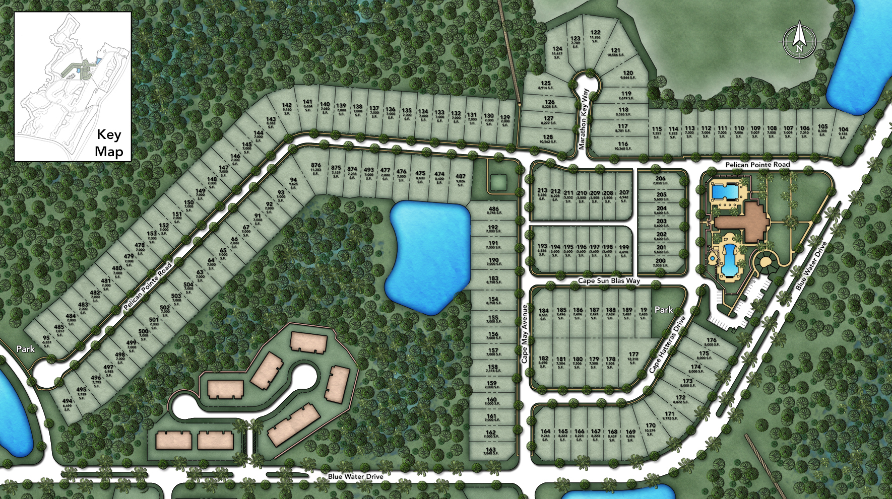 Coastal Oaks at Nocatee - Legacy Collection Site Plan I