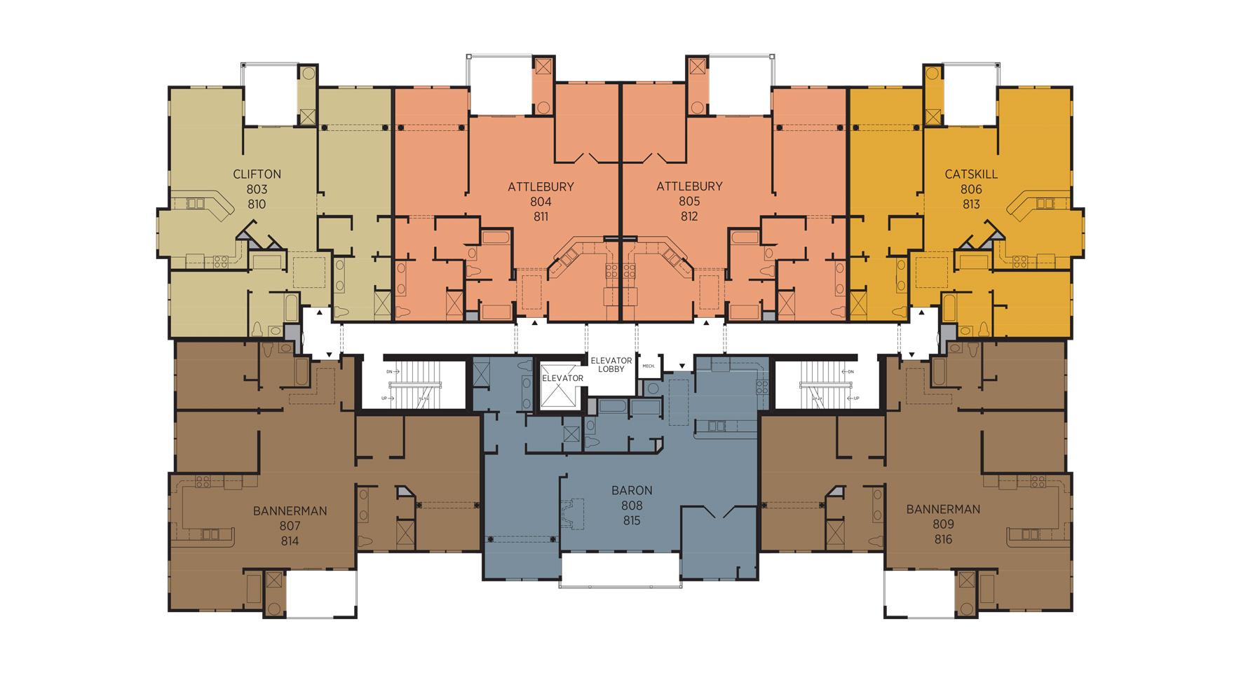 Regency at Fishkill 2nd Floor