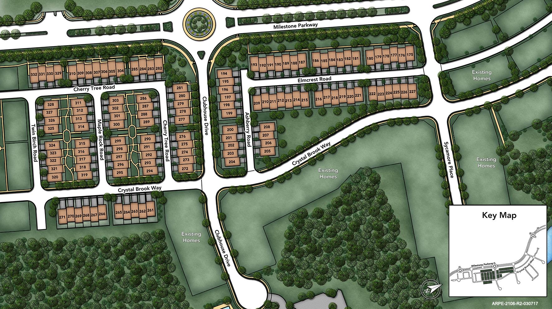 The Enclave at Arundel Preserve Site Plan