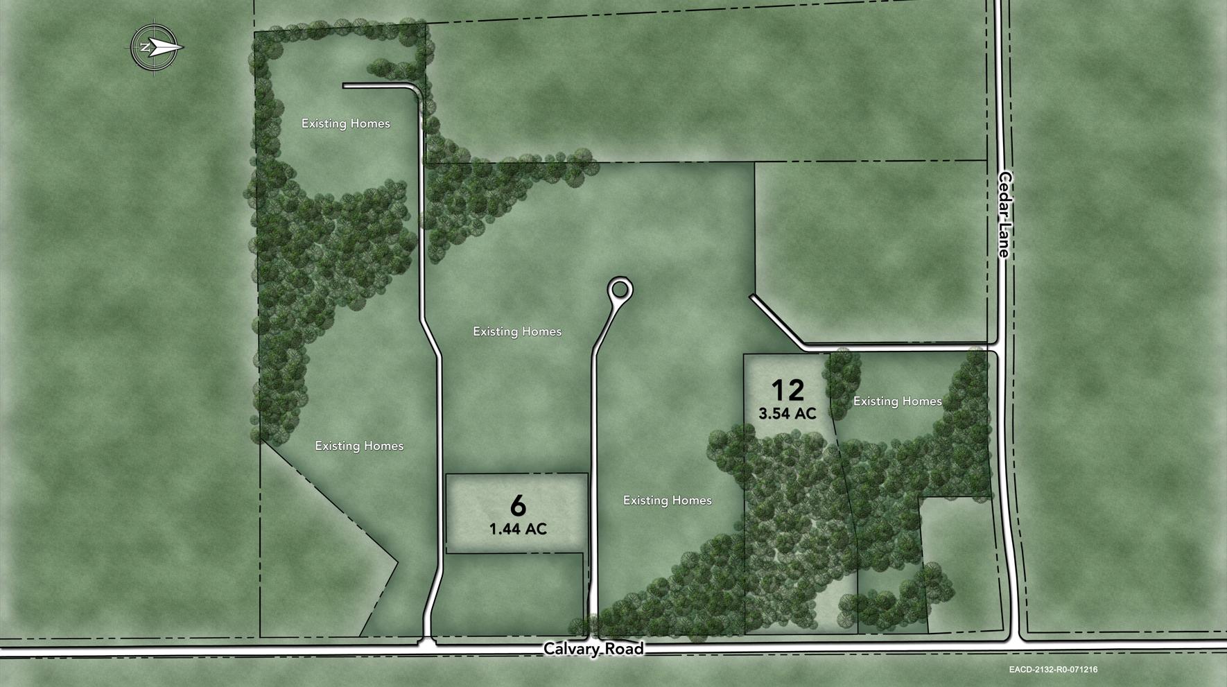 The Estates at Cedarday Site Plan III