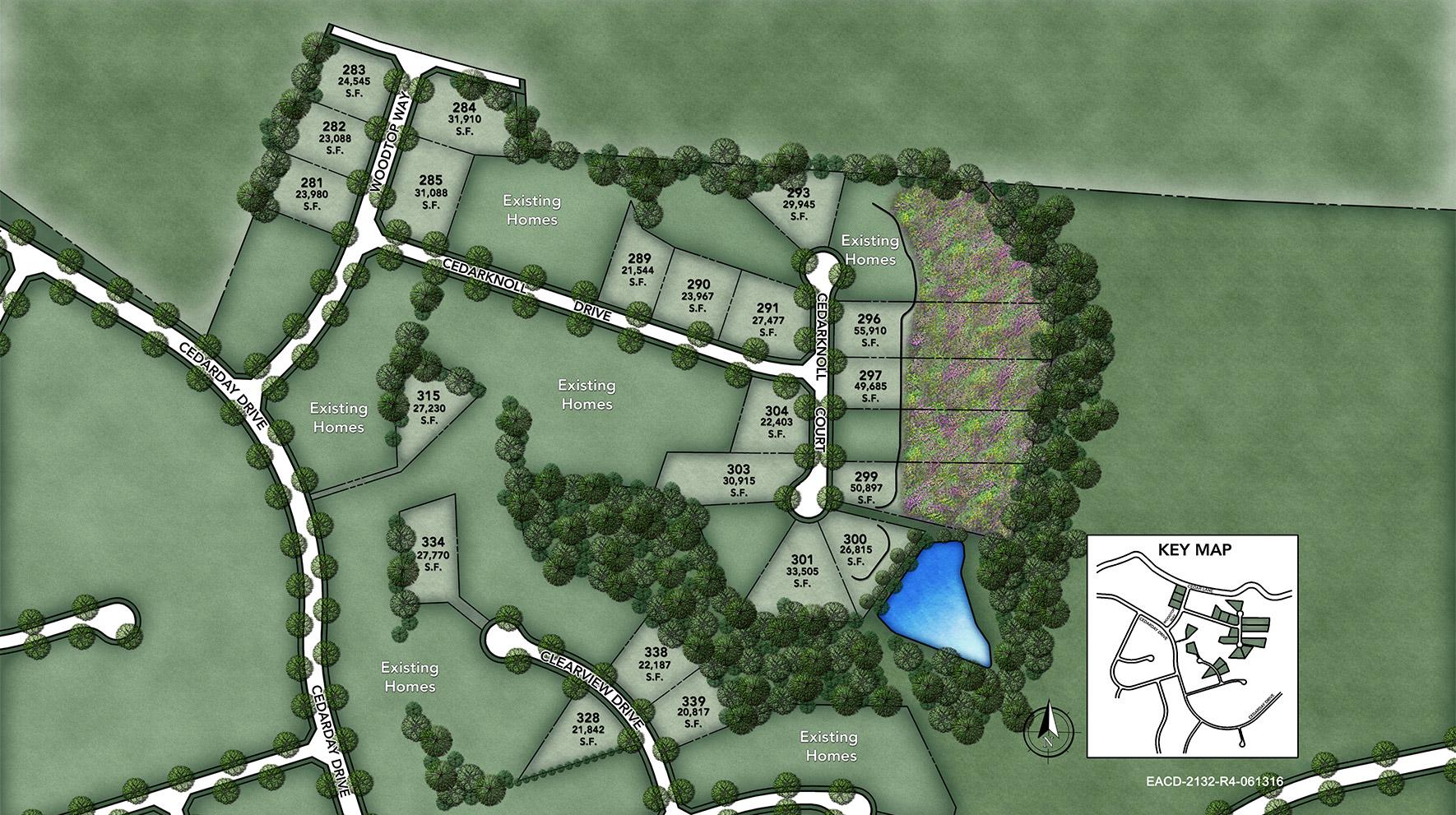 The Estates at Cedarday Site Plan I