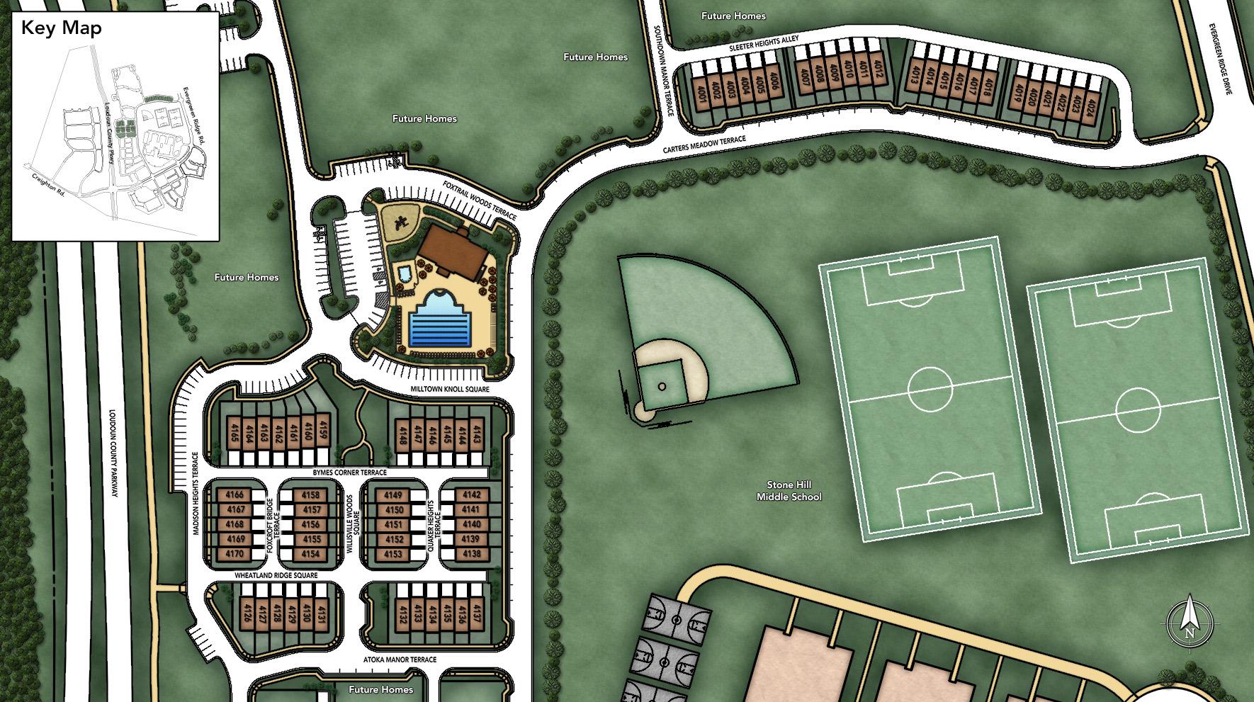 Loudoun Valley - The Fairmont Site Plan I