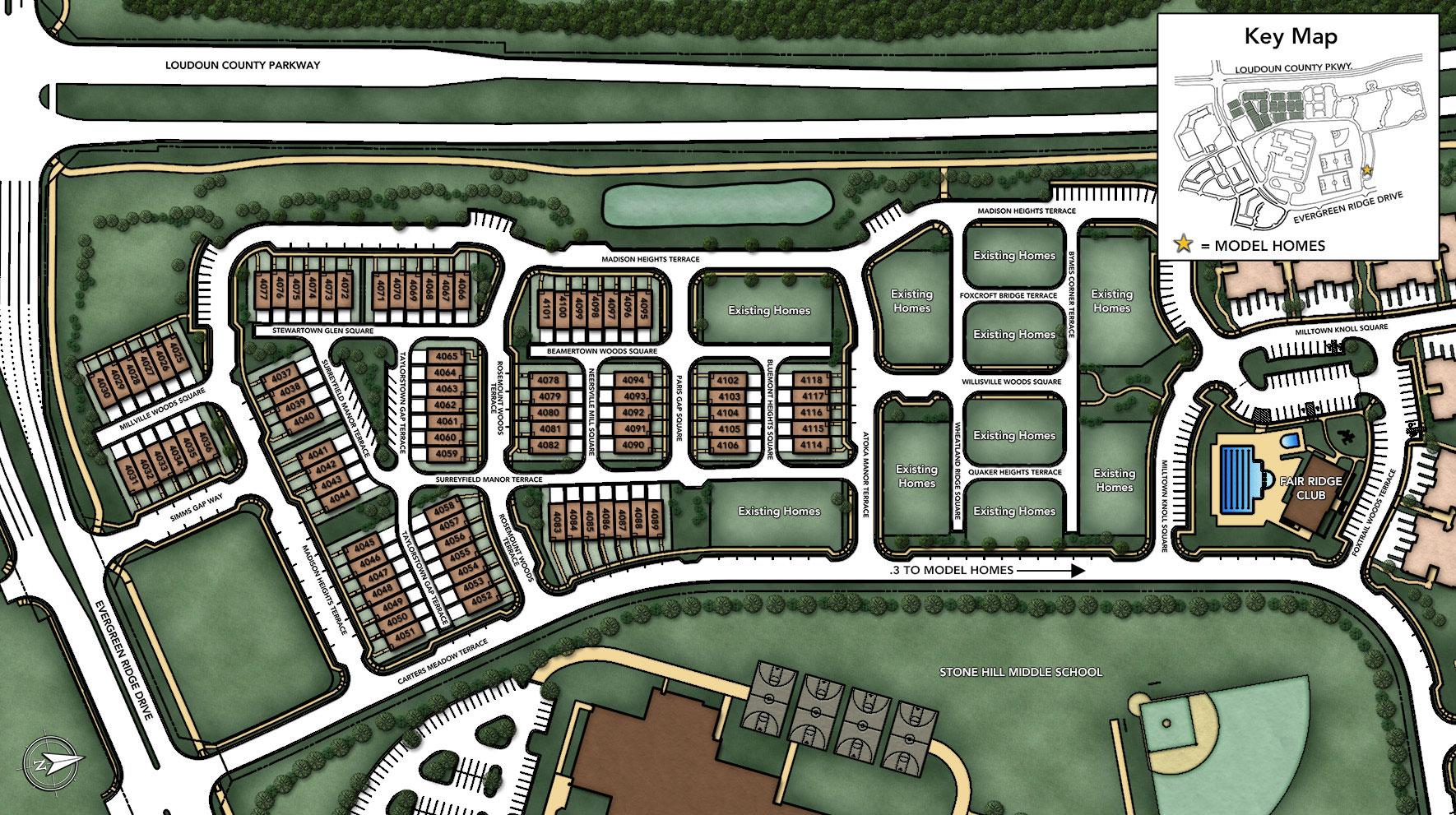 Loudoun Valley - The Fairmont Site Plan II