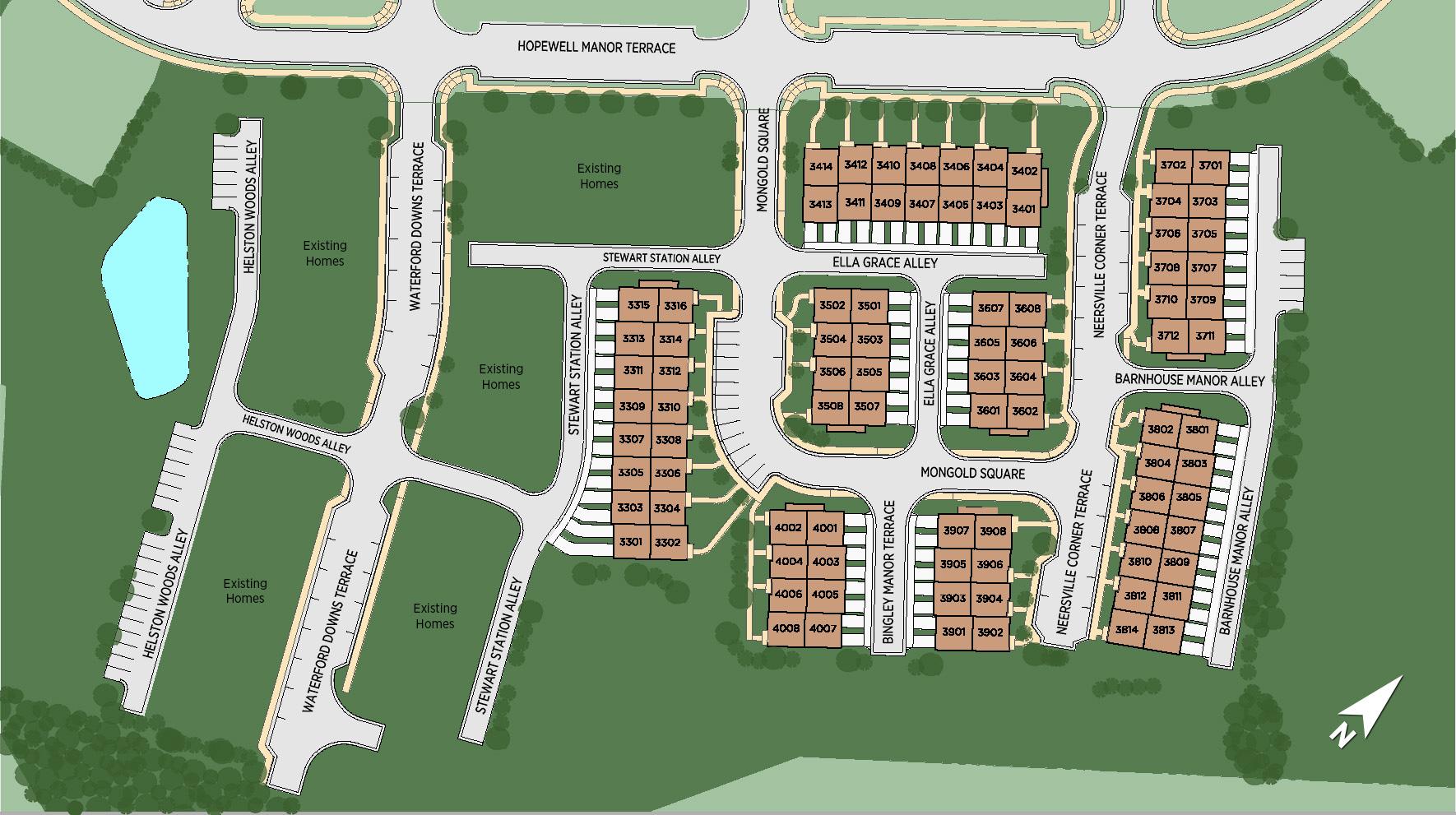 Loudoun Valley - The Carlisle Site Plan