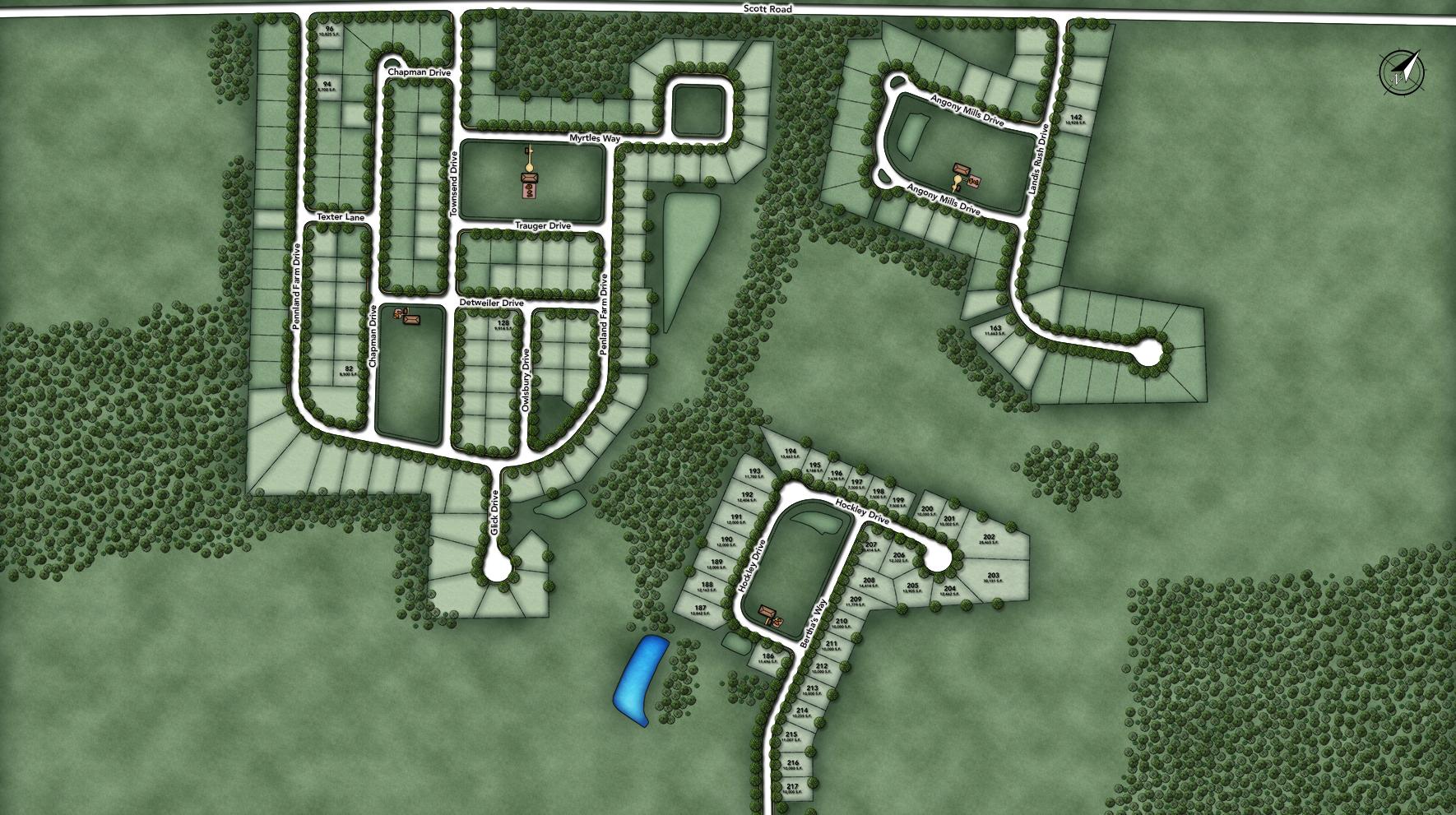 Penn Land Farm Site Plan I