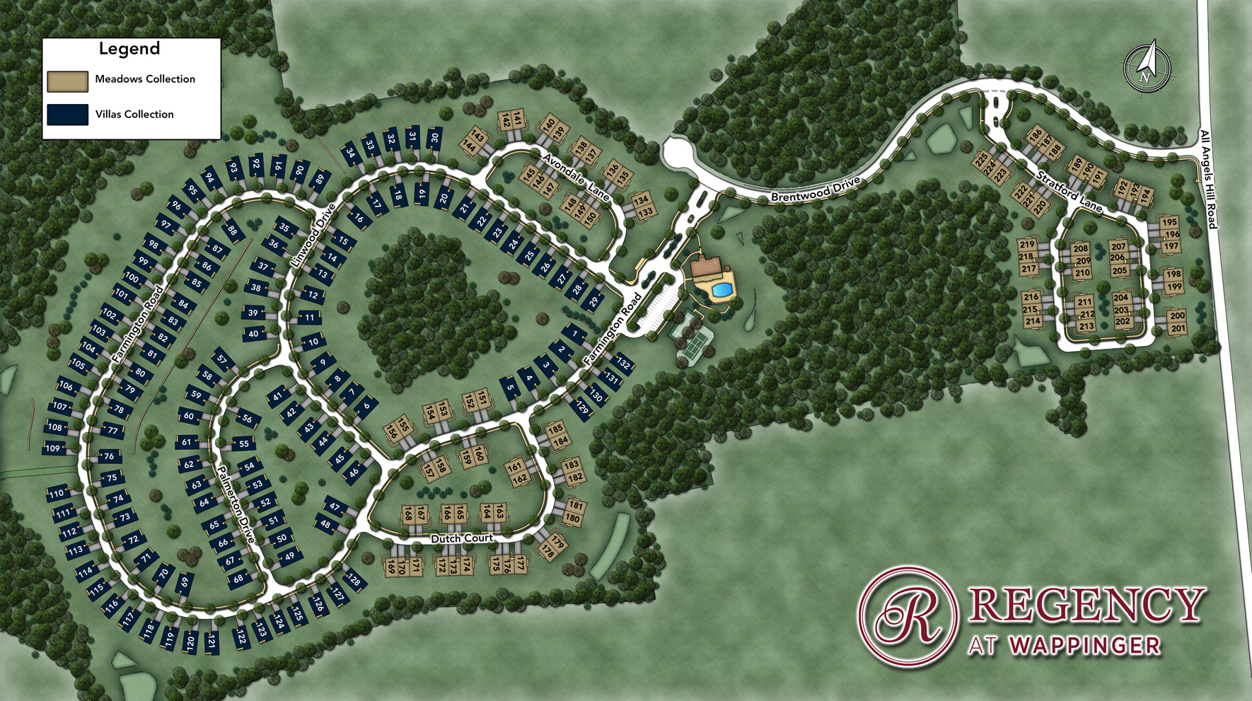 Regency at Wappinger - Meadows Site Plan