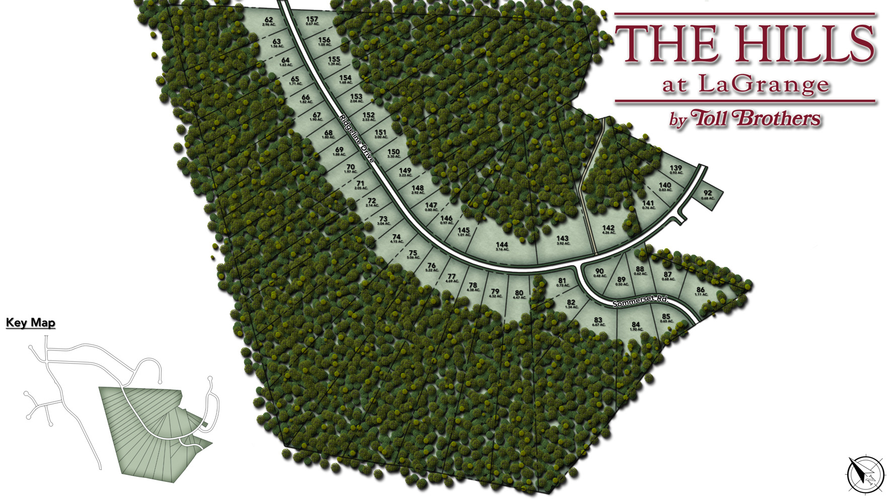 The Hills at LaGrange Site Plan