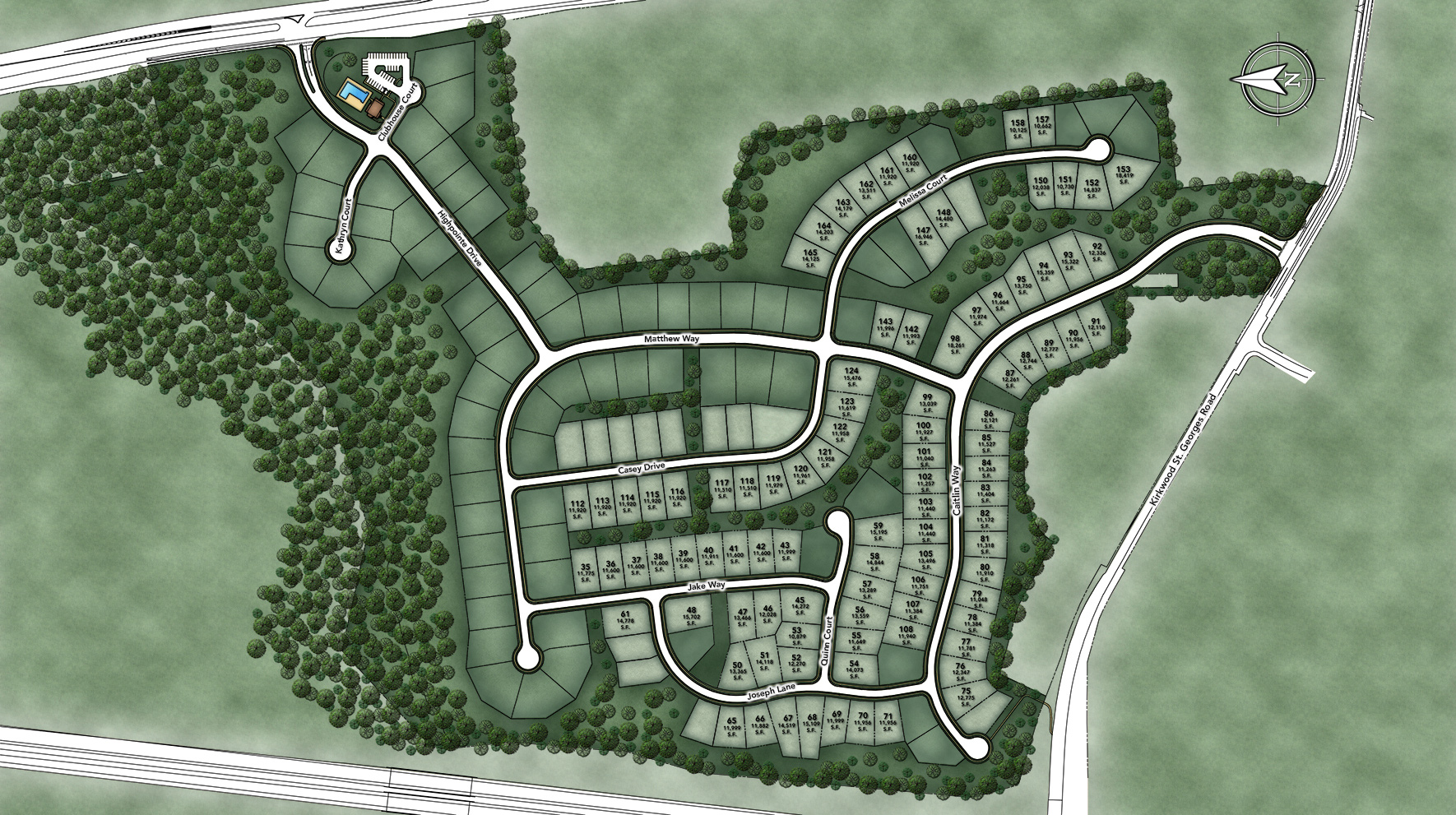 High Pointe at St. Georges - Carolina Collection Site Plan