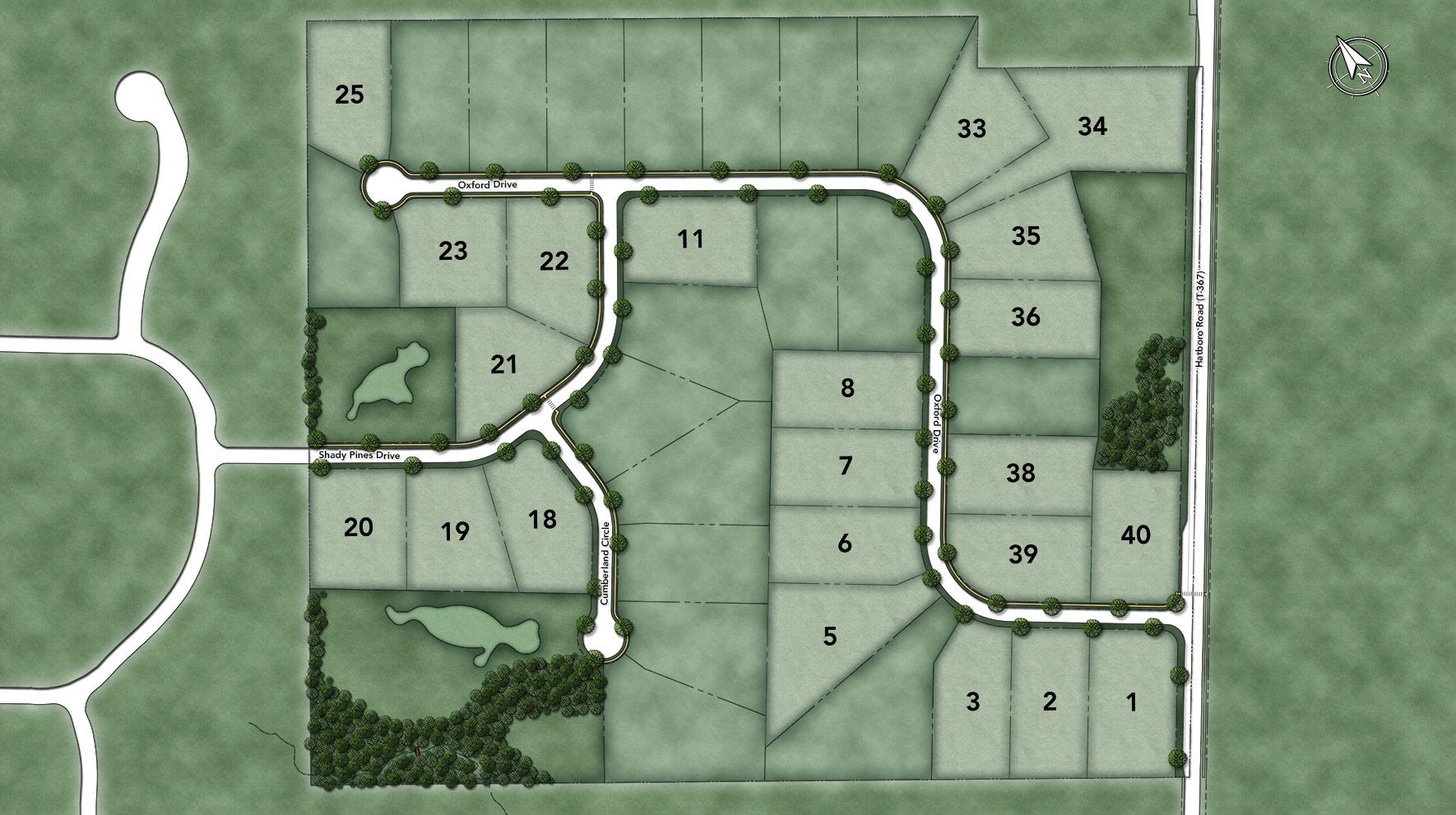 Reserve at Northampton Site Plan