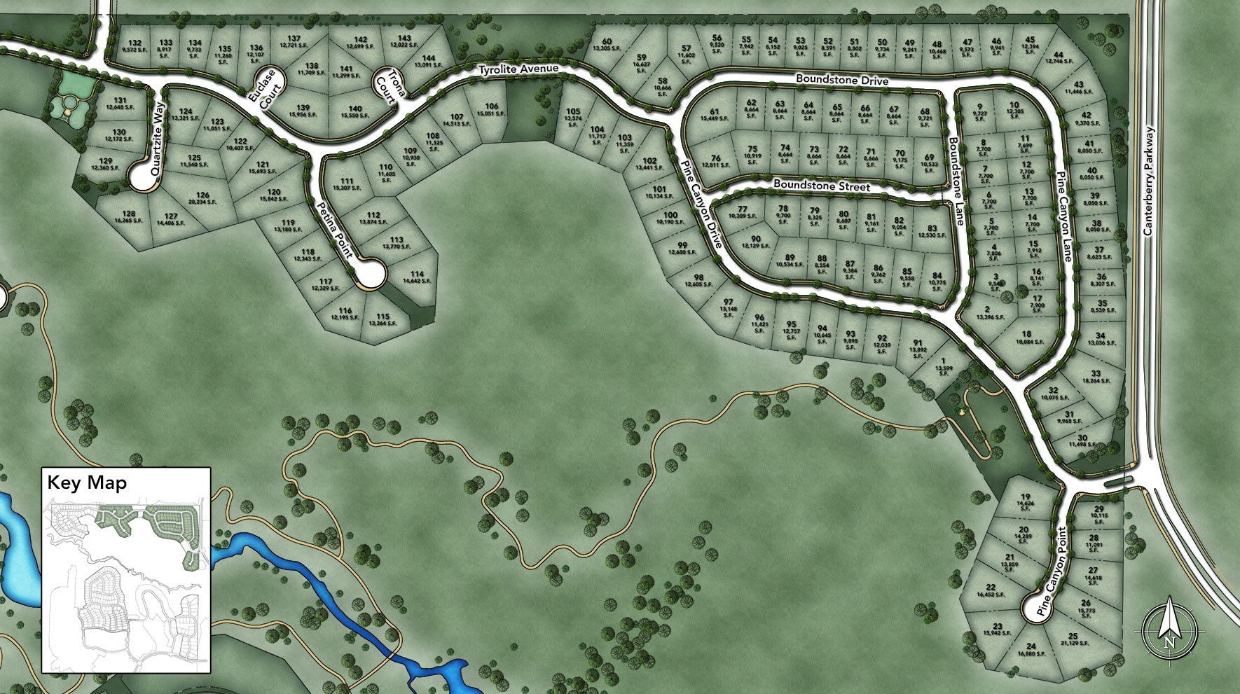 The Highlands at Parker Site Plan