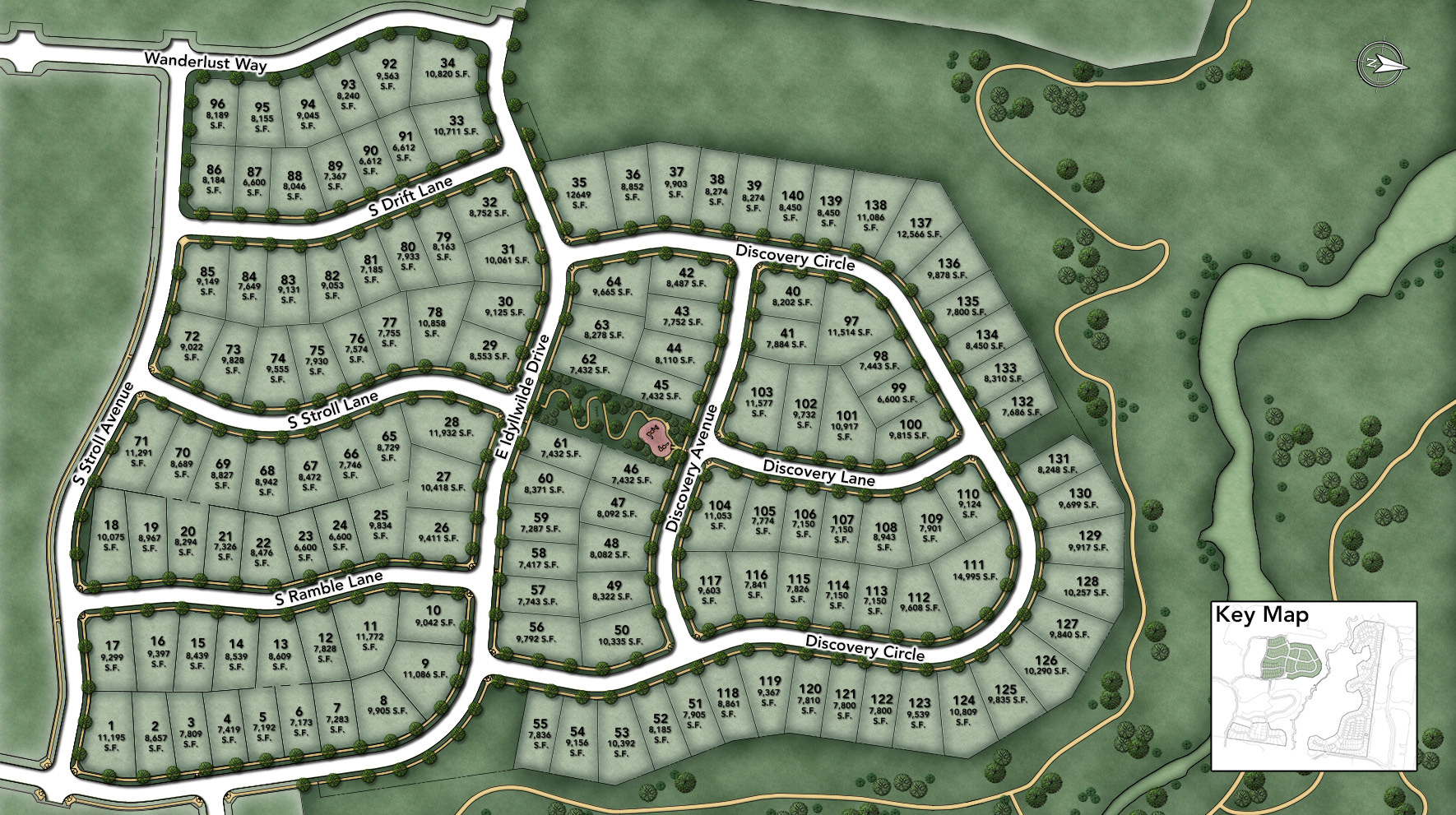 The Hills at Parker Site Plan