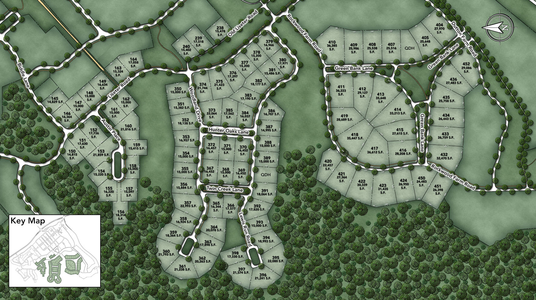 Liseter- The Bryn Mawr Collection Site Plan