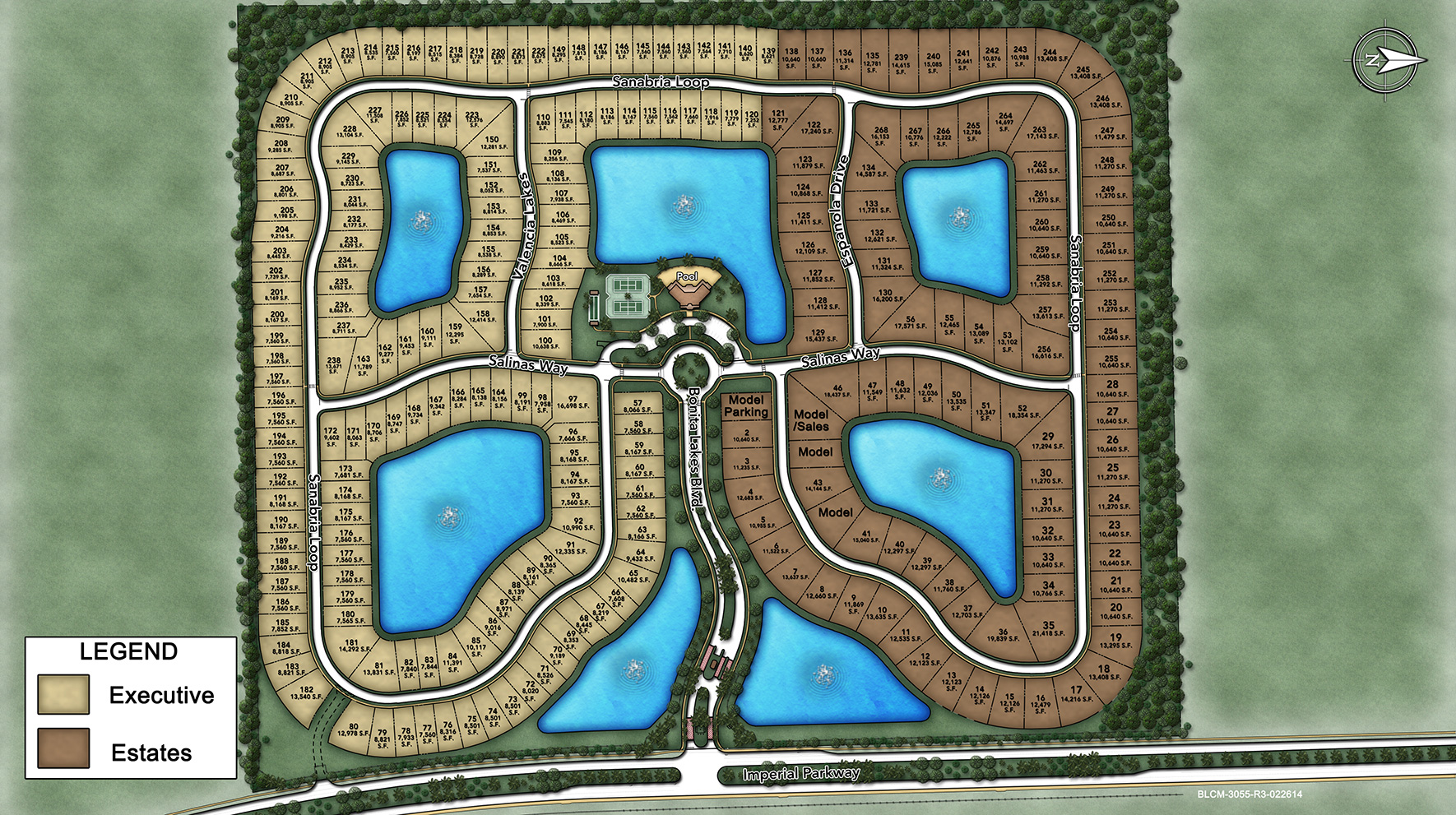 Bonita Lakes Site Plan