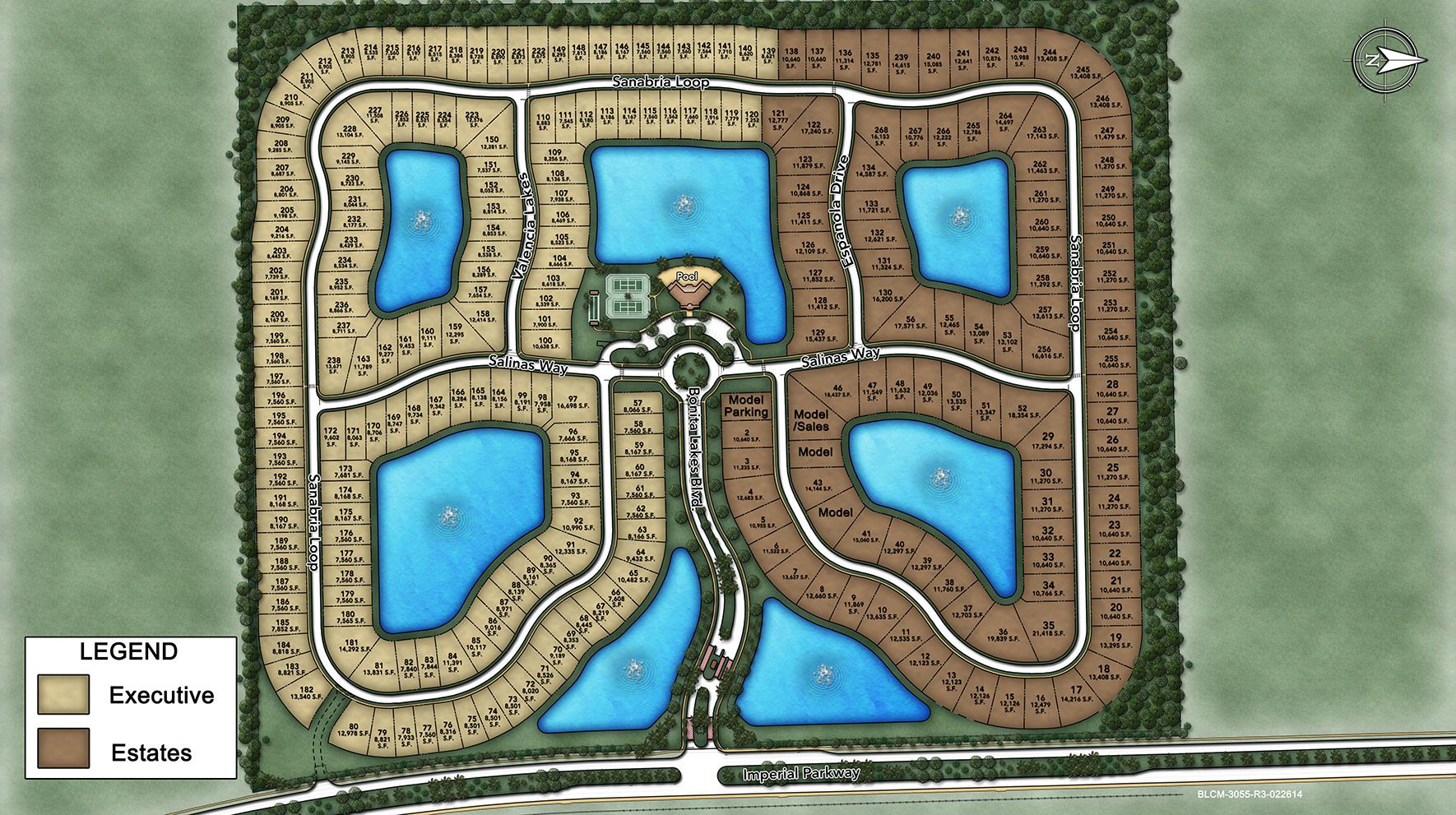 Bonita Lakes Site Plan