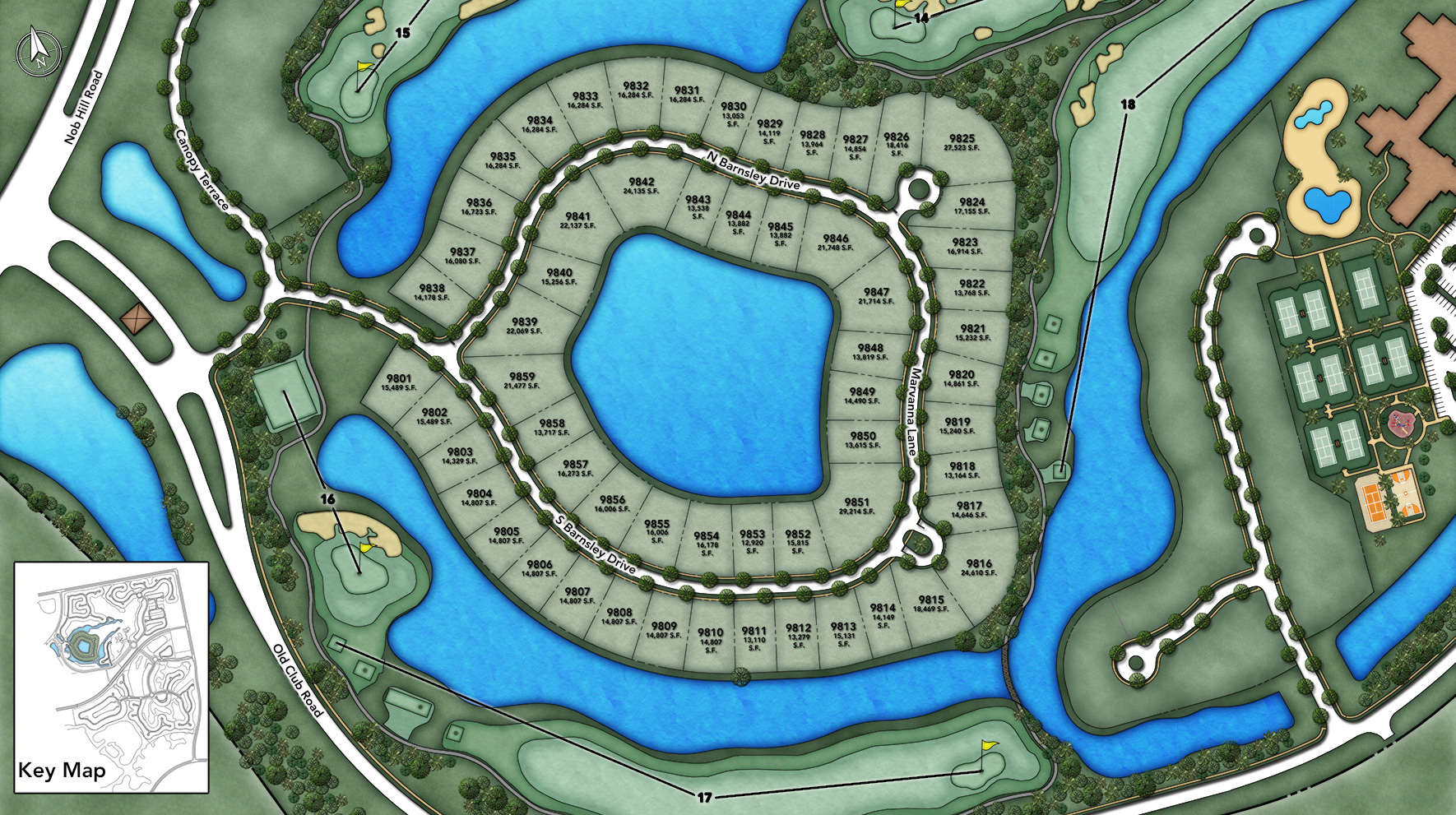 Parkland Golf & Country Club - Heritage Collection Site Plan IV